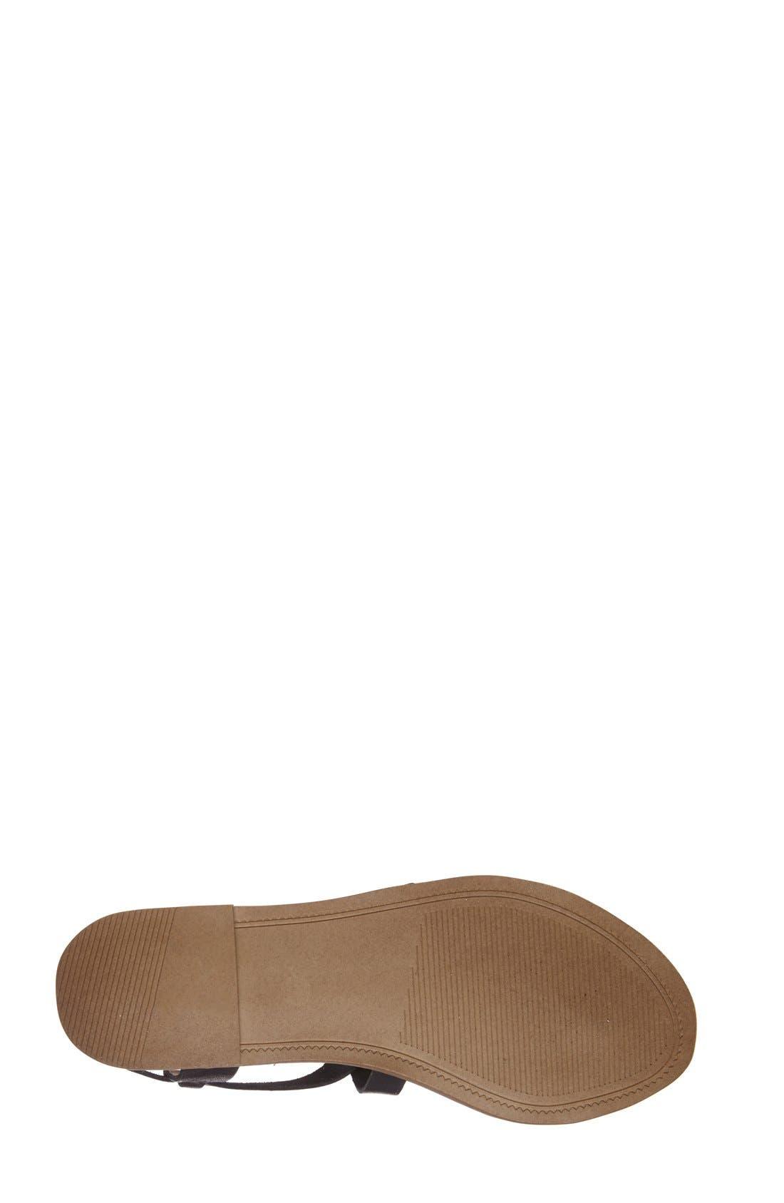 Alternate Image 4  - Steve Madden 'Agathist' Leather Ankle Strap Sandal (Women)