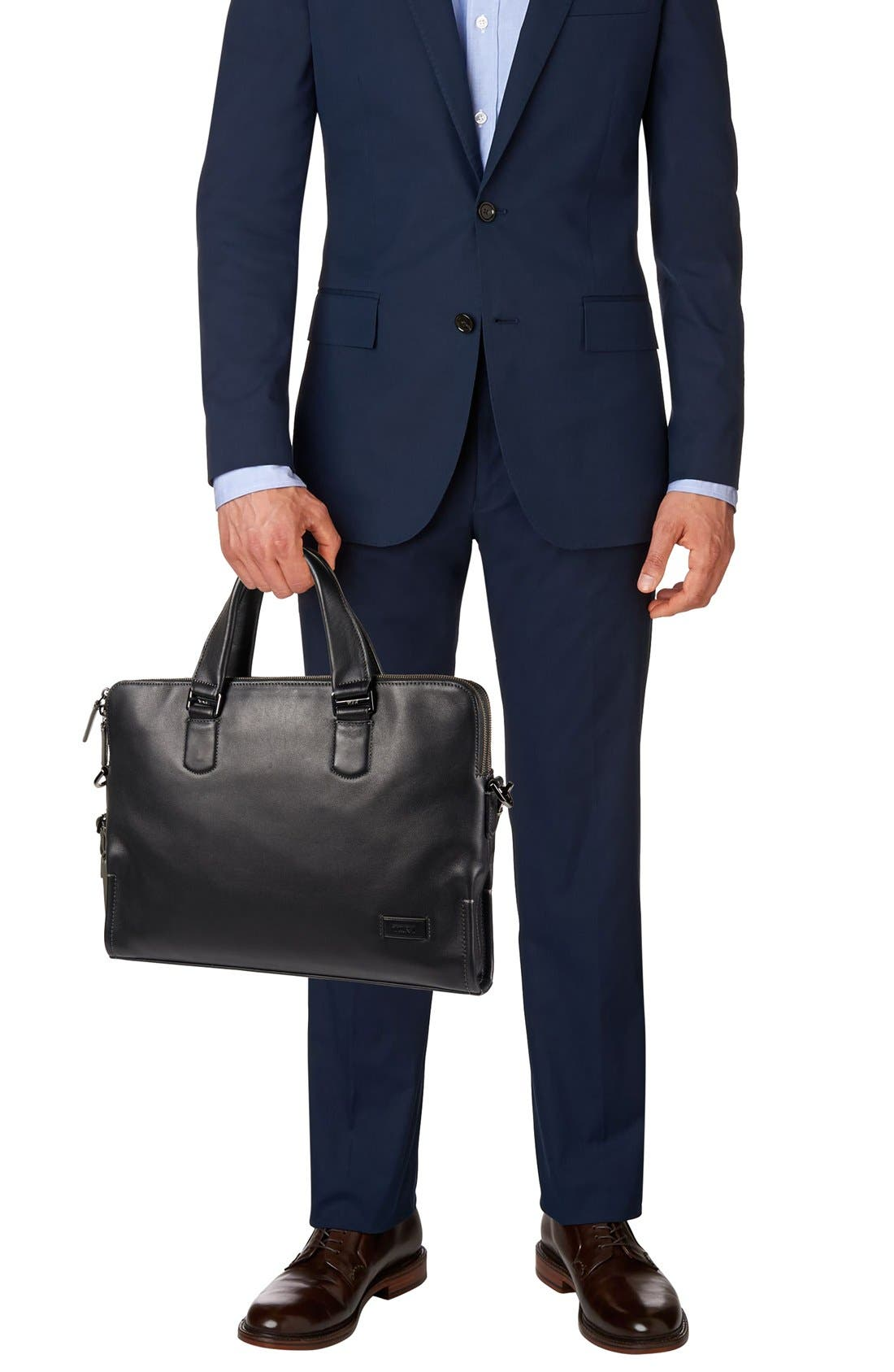 Alternate Image 2  - Tumi 'Harrison - Seneca Slim' Leather Briefcase
