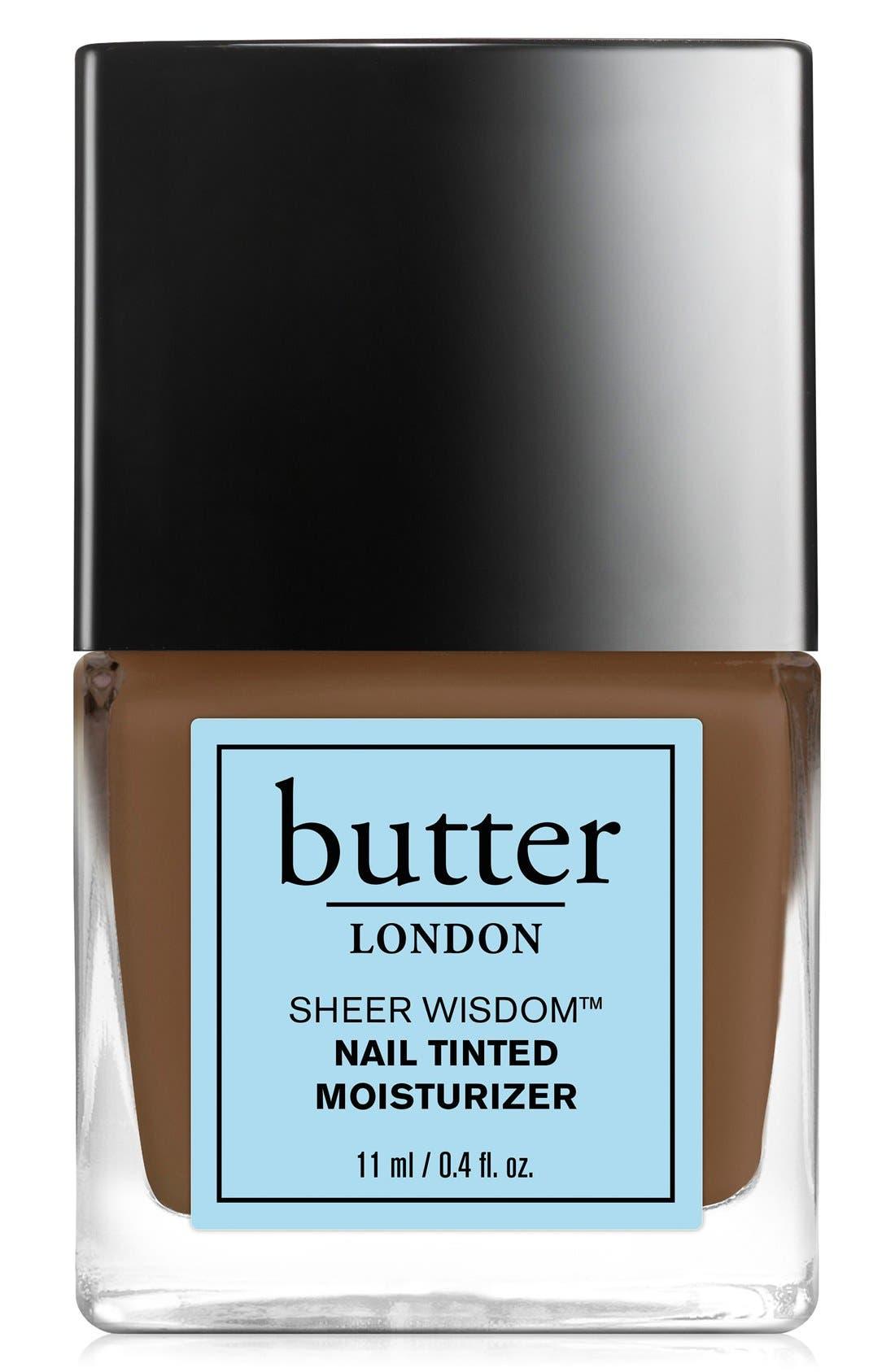 butter LONDON 'Sheer Wisdom™' Nail Tinted Moisturizer