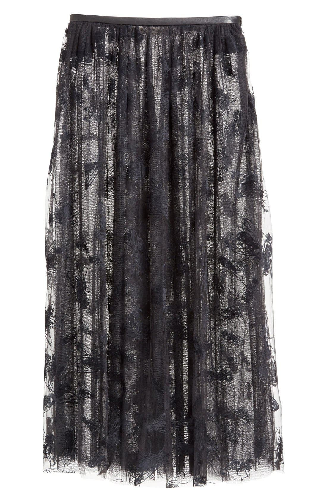 Alternate Image 4  - Ashley Williams 'Flock Fly' Sheer Tulle Skirt