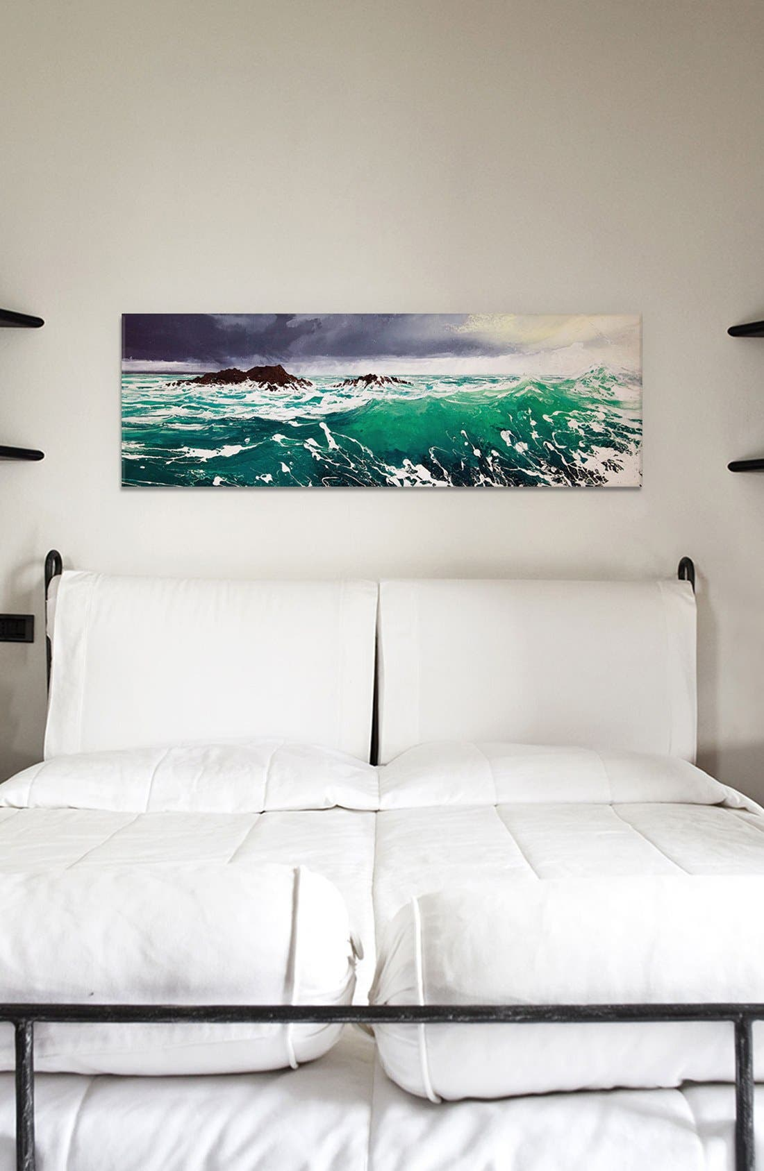 'North Westerly' Giclée Print Canvas Art,                             Alternate thumbnail 2, color,                             Green