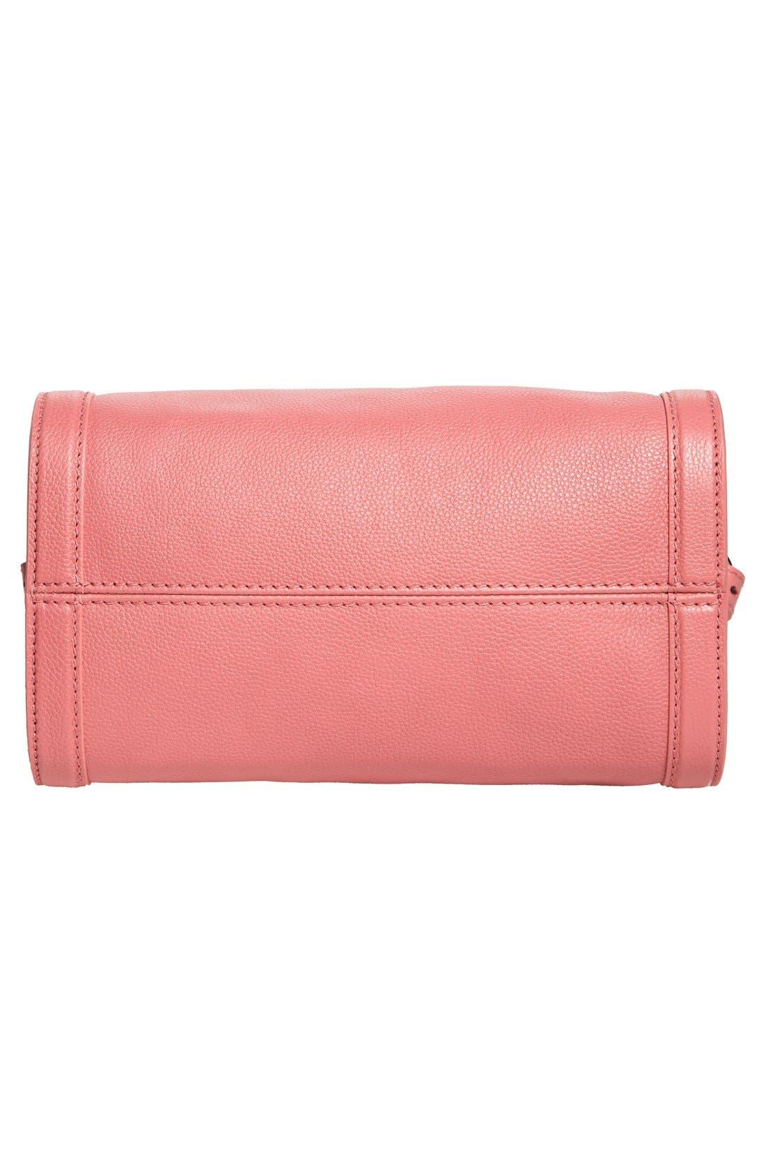 Alternate Image 6  - Alexander McQueen 'Small Padlock' Leather Duffel Bag