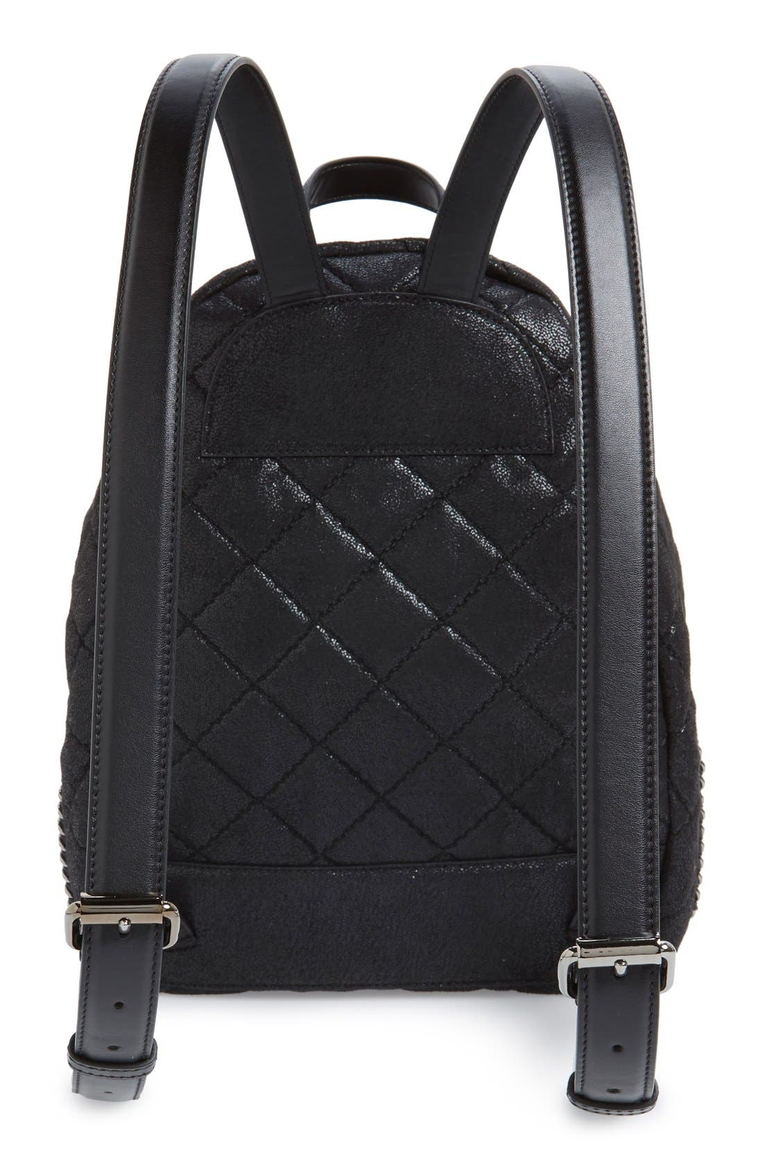 Alternate Image 3  - Stella McCartney 'Mini Falabella' Faux Leather Quilted Backpack