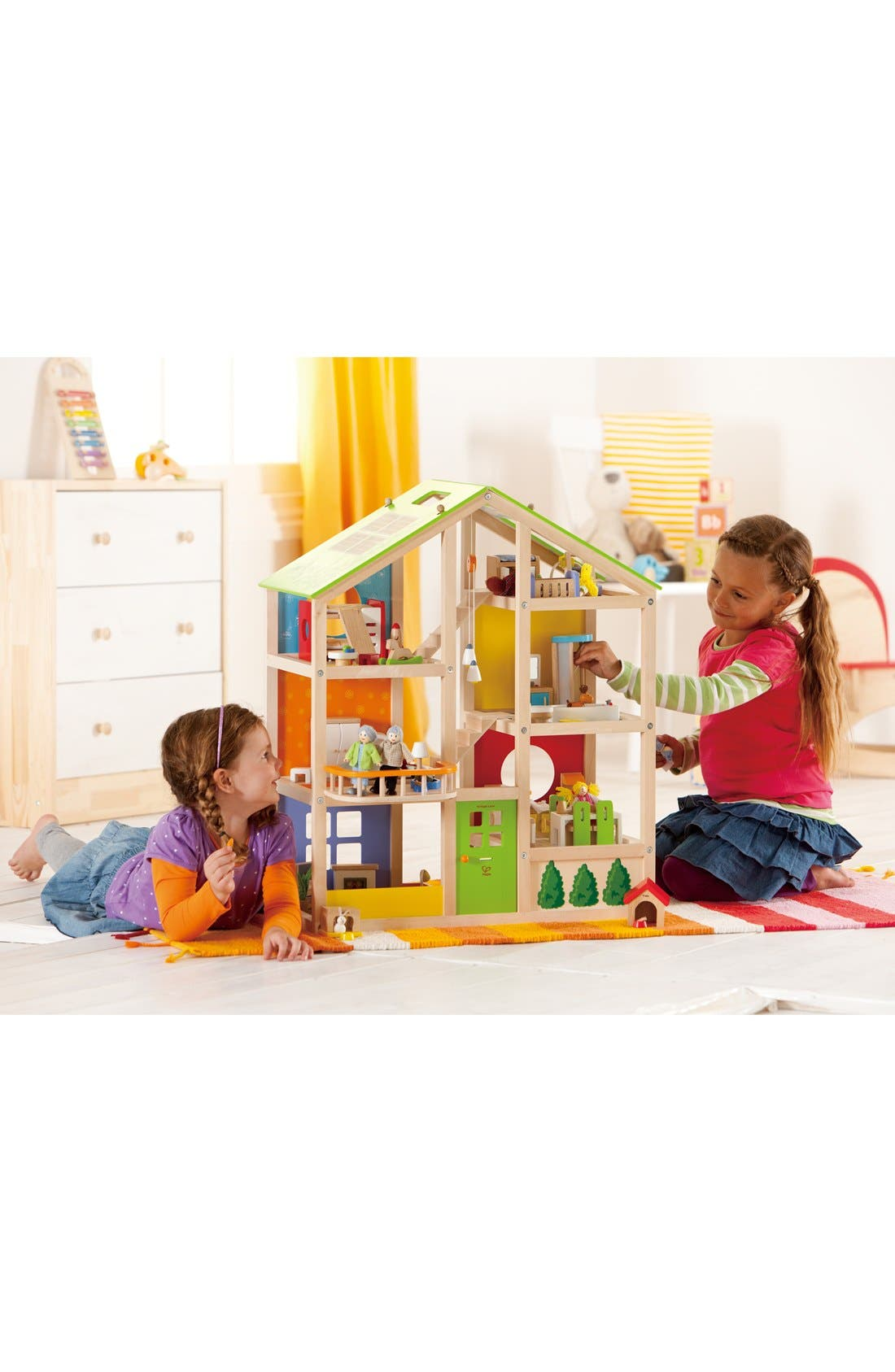 Alternate Image 2  - Hape Furnished All-Season Playhouse
