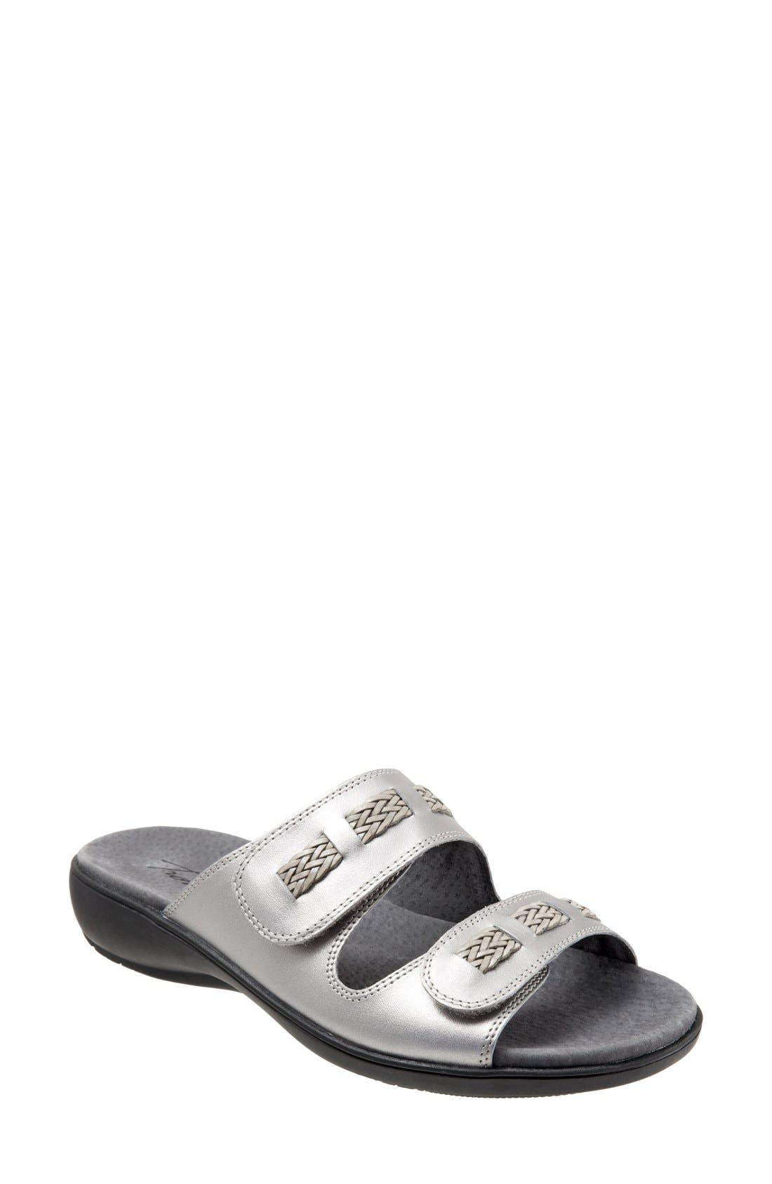 Trotters 'Kap' Slide Sandal (Women)