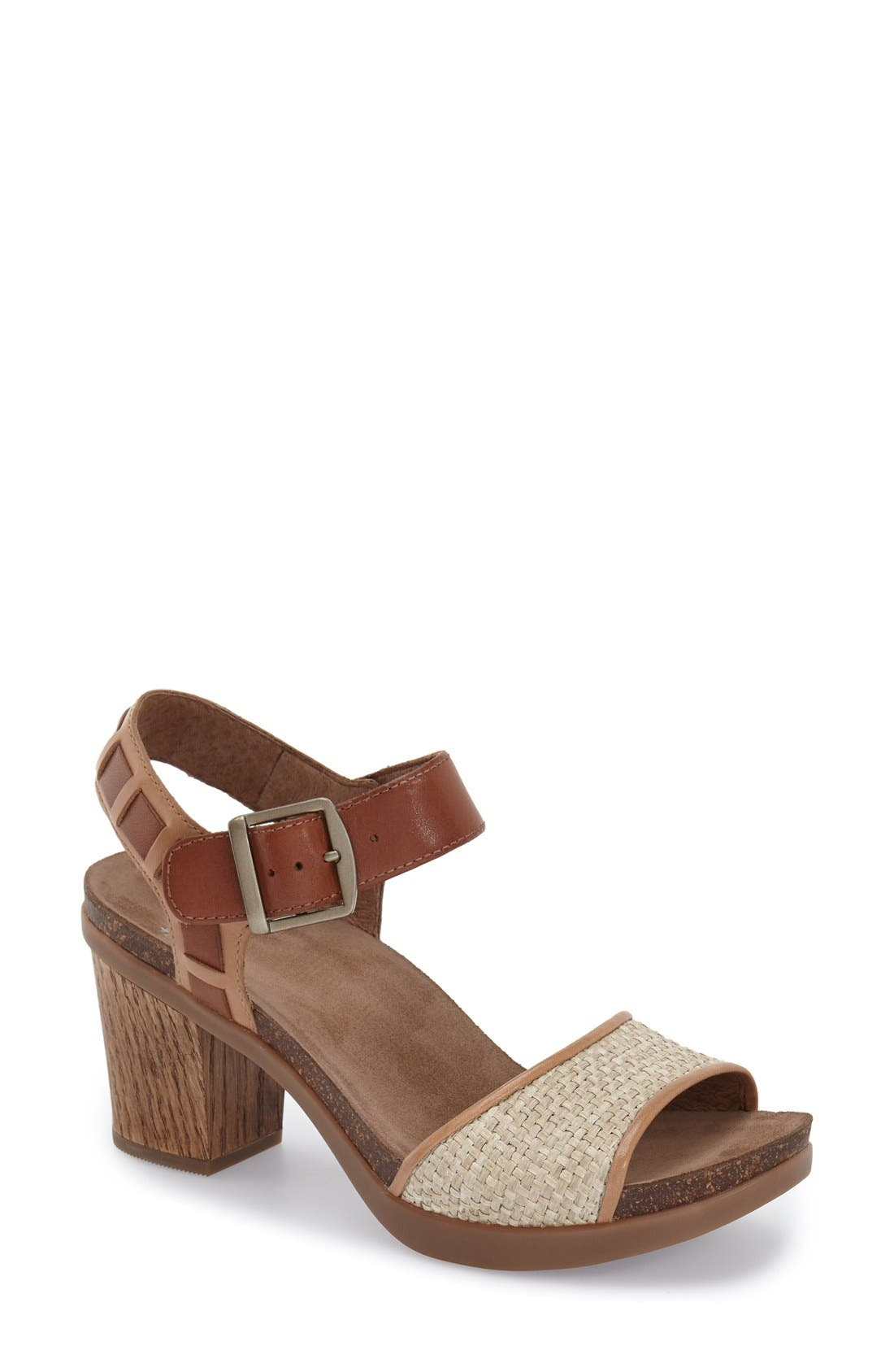 Alternate Image 1 Selected - Dansko 'Debby' Platform Sandal (Women)