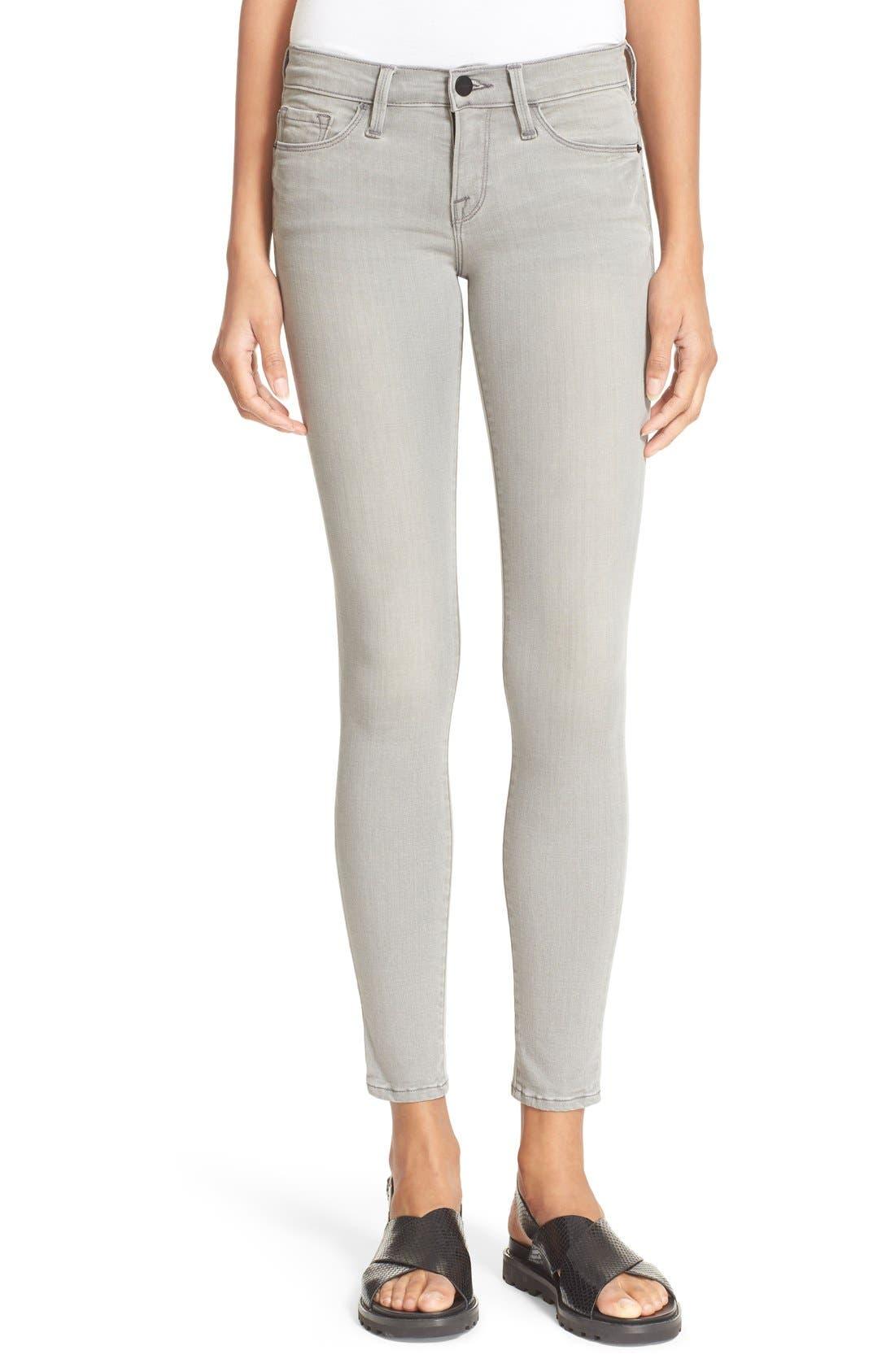 Alternate Image 1 Selected - FRAME 'Le Skinny de Jeanne' Jeans (Wilton)