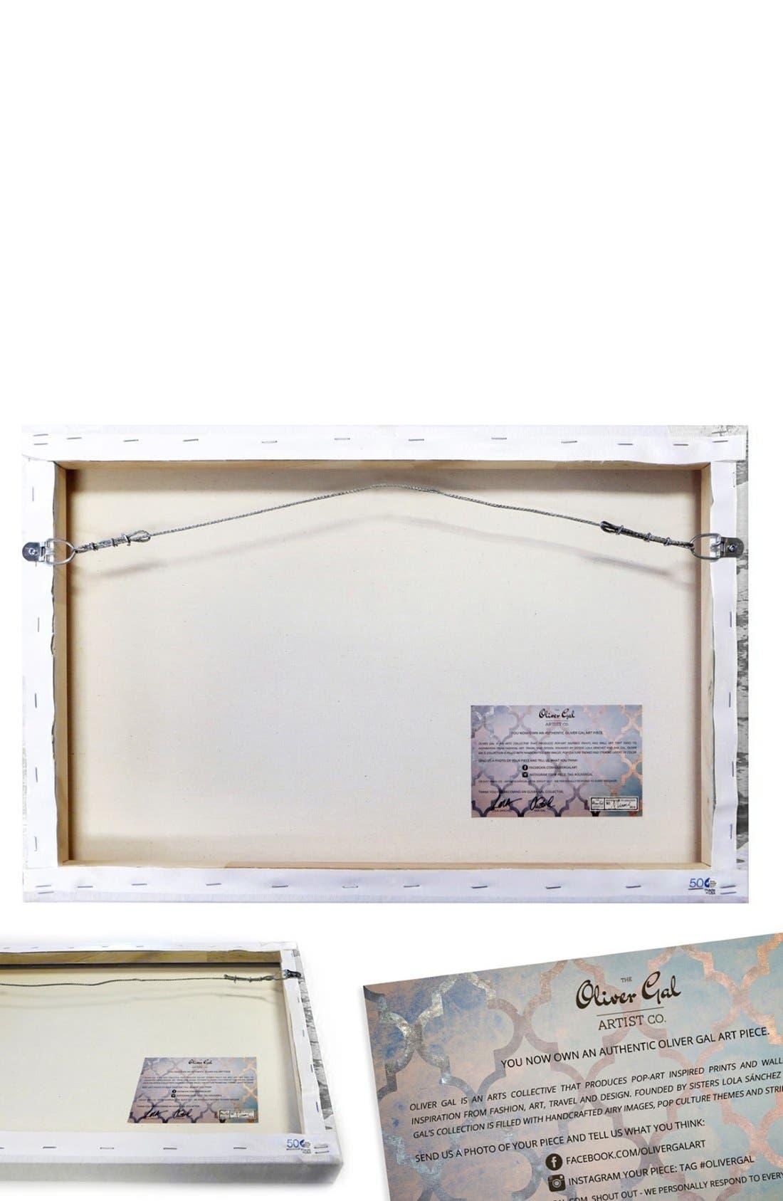 Alternate Image 3  - Oliver Gal 'Infinite Love' Canvas Wall Art