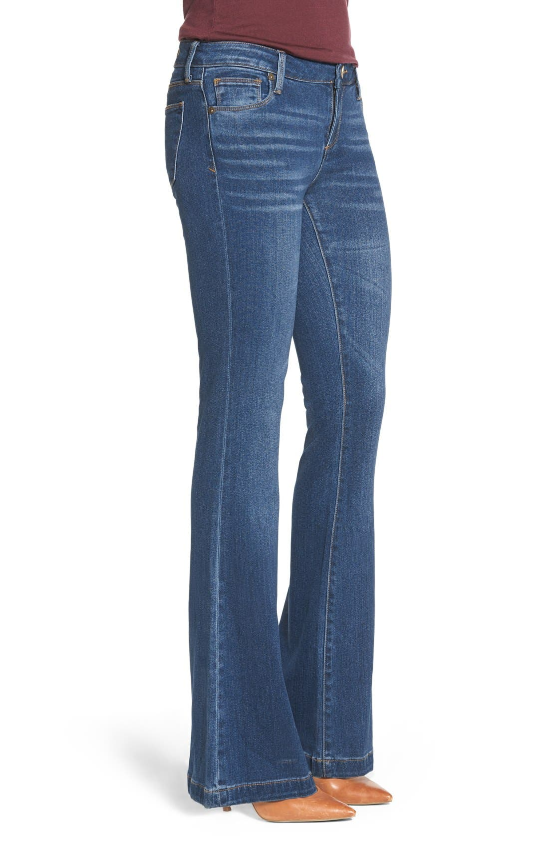 Alternate Image 3  - KUT from the Kloth 'Chrissy' Stretch Flare Leg Jeans (Inclusion)