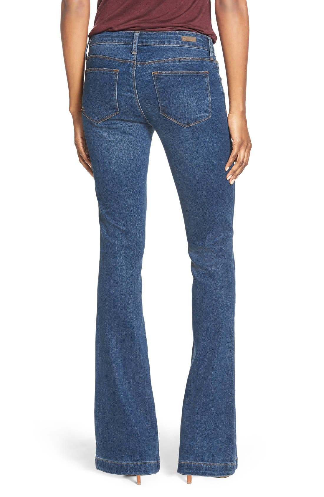 Alternate Image 2  - KUT from the Kloth 'Chrissy' Stretch Flare Leg Jeans (Inclusion)