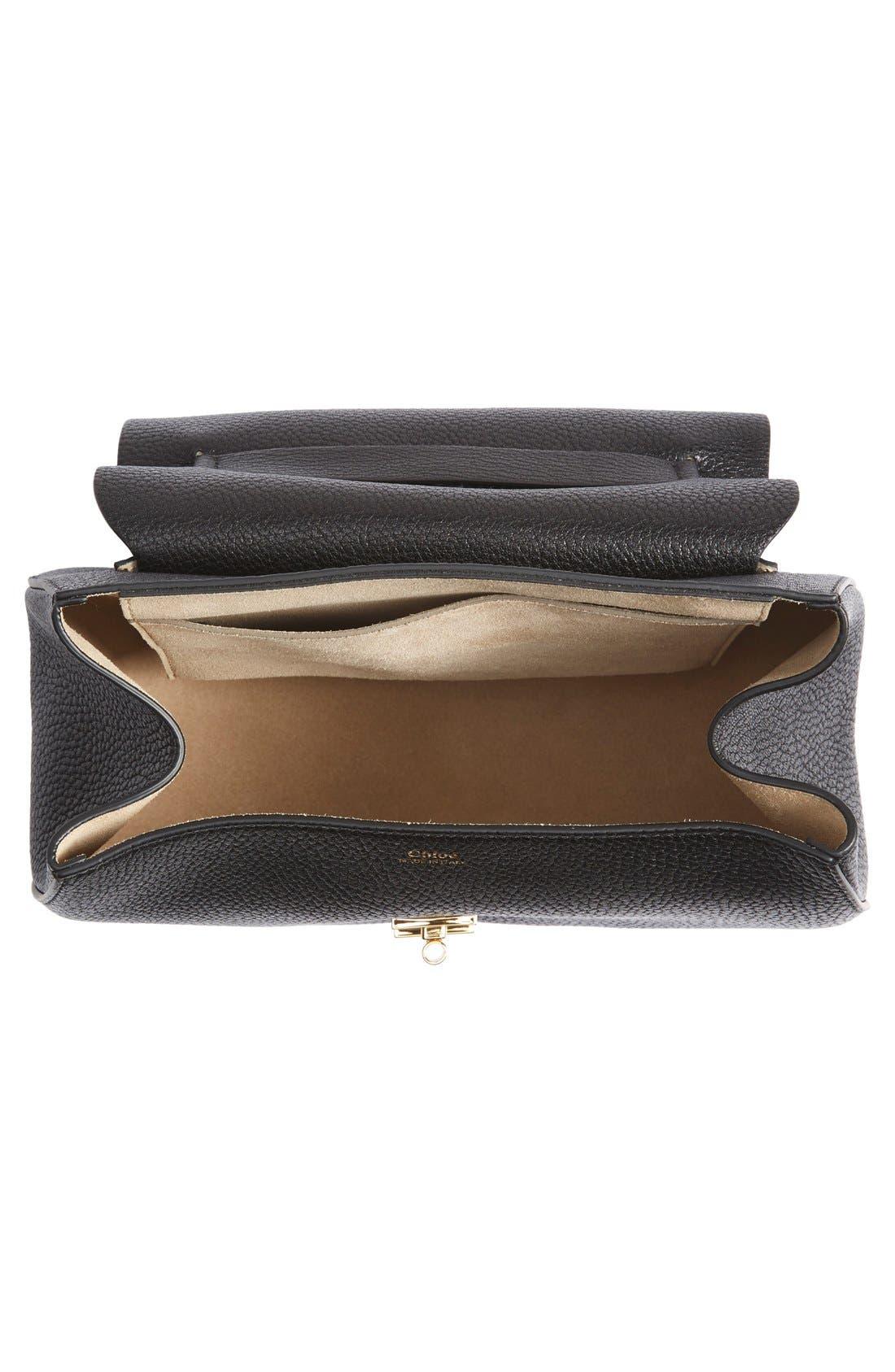 Alternate Image 4  - Chloé 'Drew' Lambskin Leather Shoulder Bag