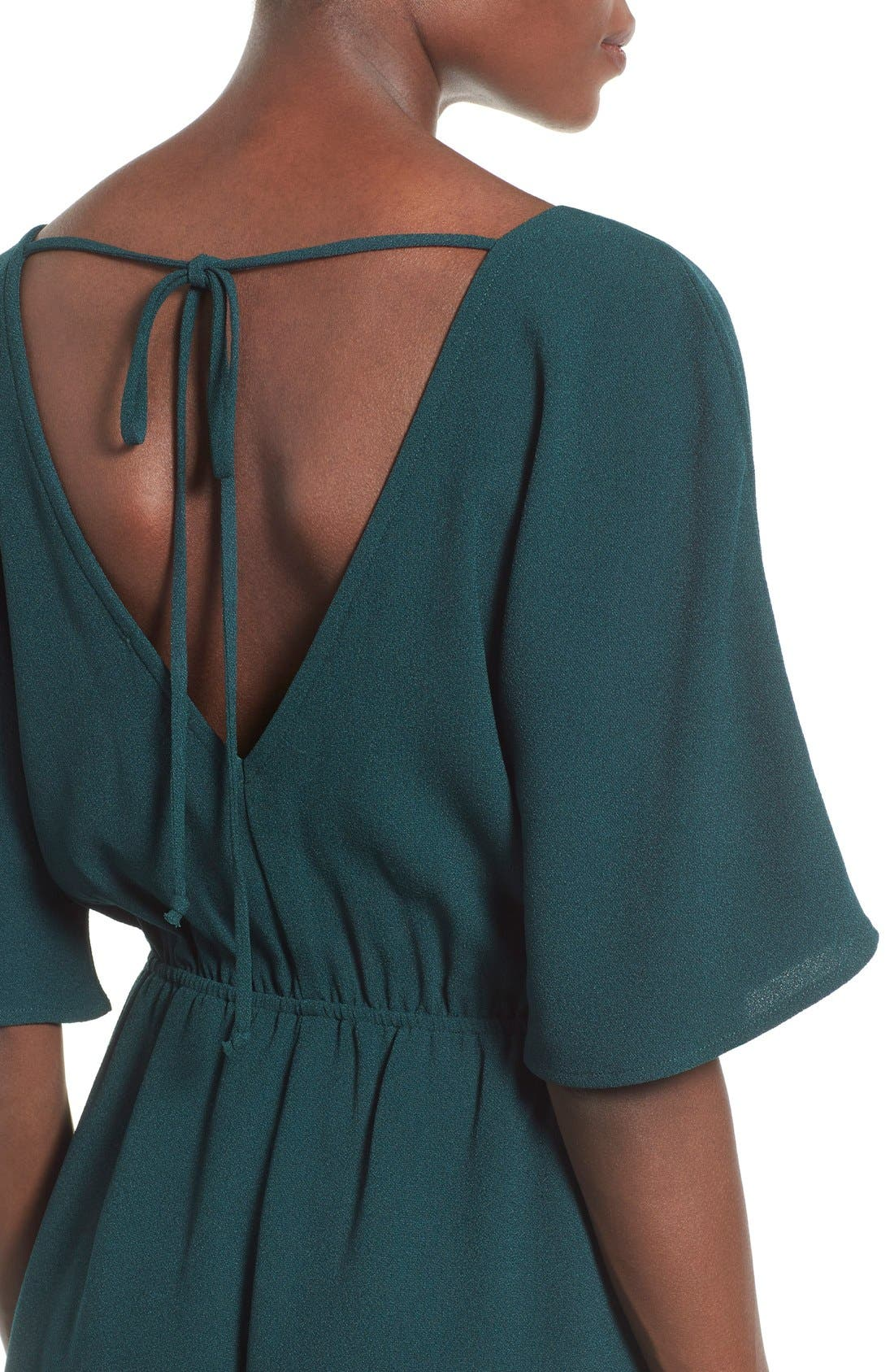 Alternate Image 4  - Leith Tie Back Romper