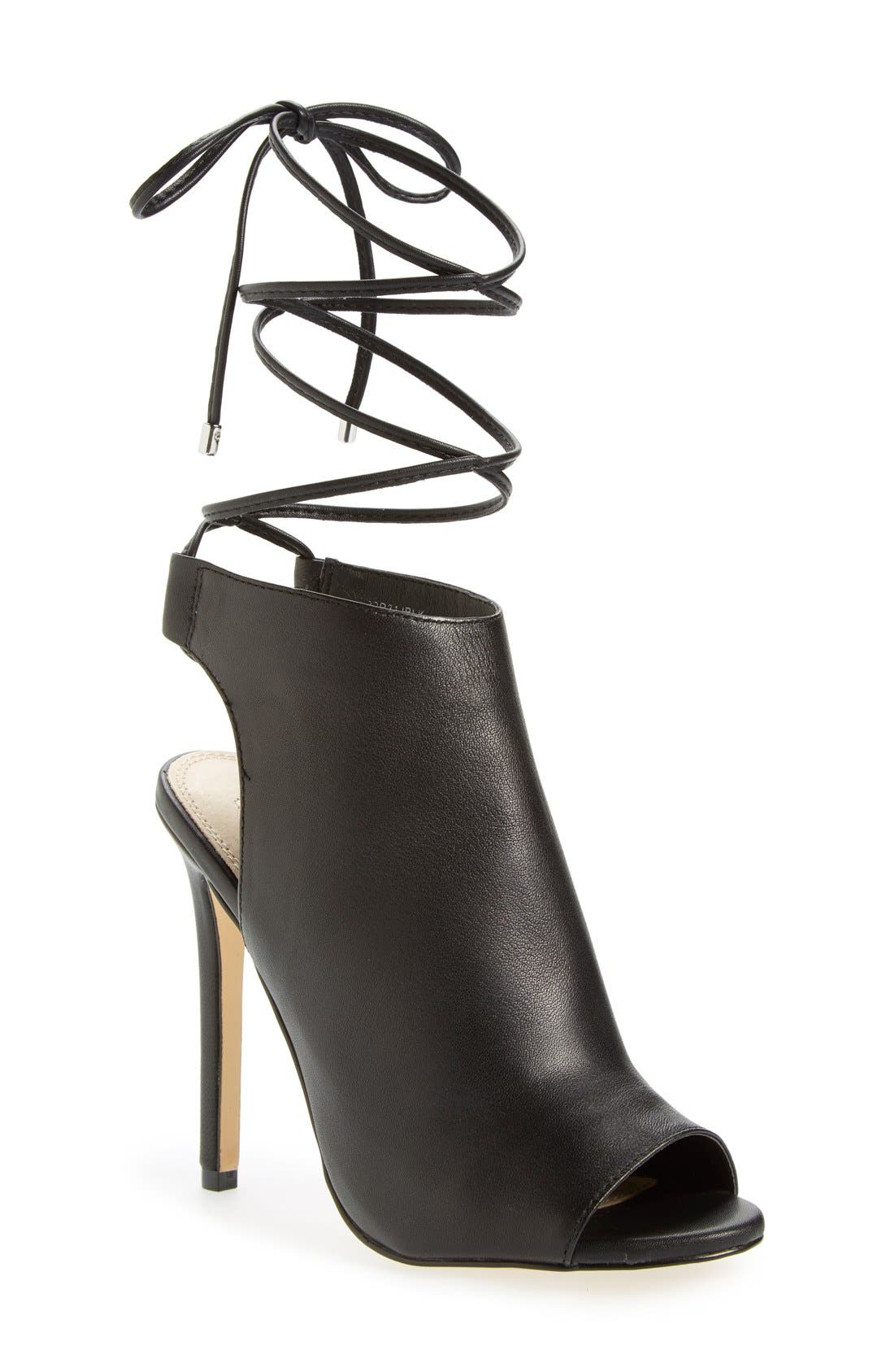 Alternate Image 1 Selected - Topshop 'Robyn' Open Toe Sandal (Women)