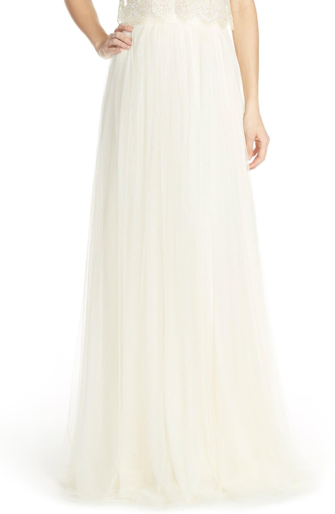 Alternate Image 1 Selected - Jenny Yoo 'Arabella' Tulle Ballgown Skirt