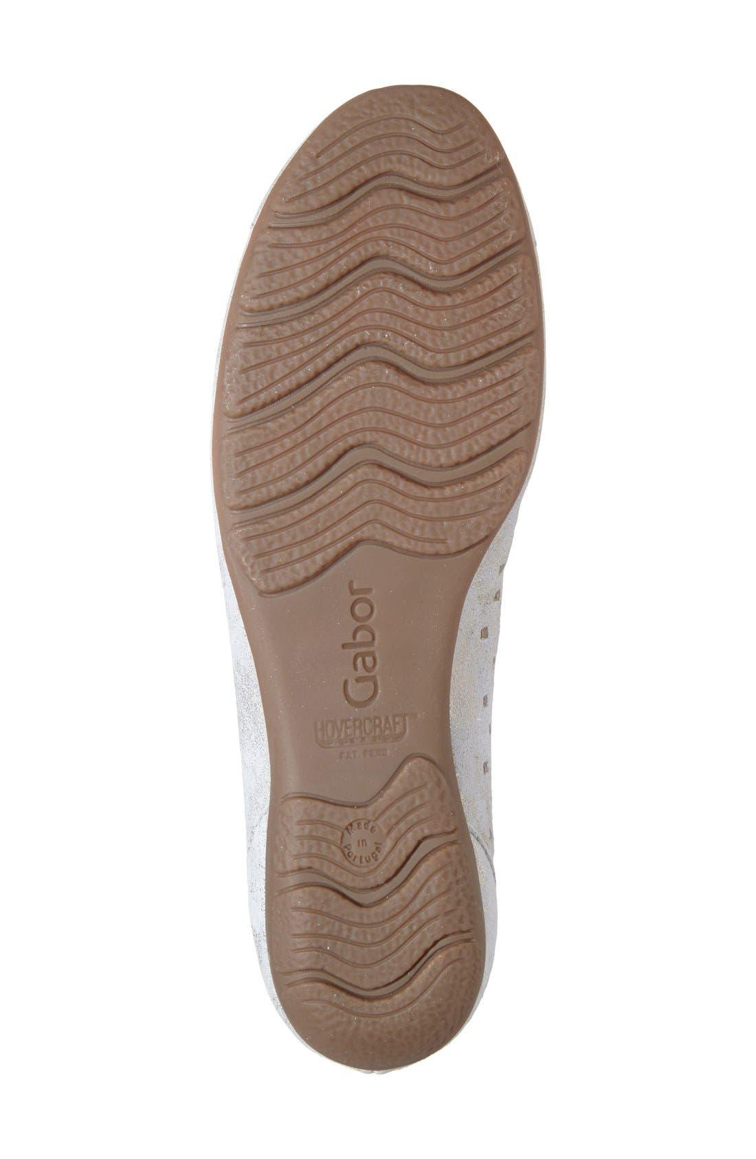 Alternate Image 4  - Gabor Perforated Ballet Flat