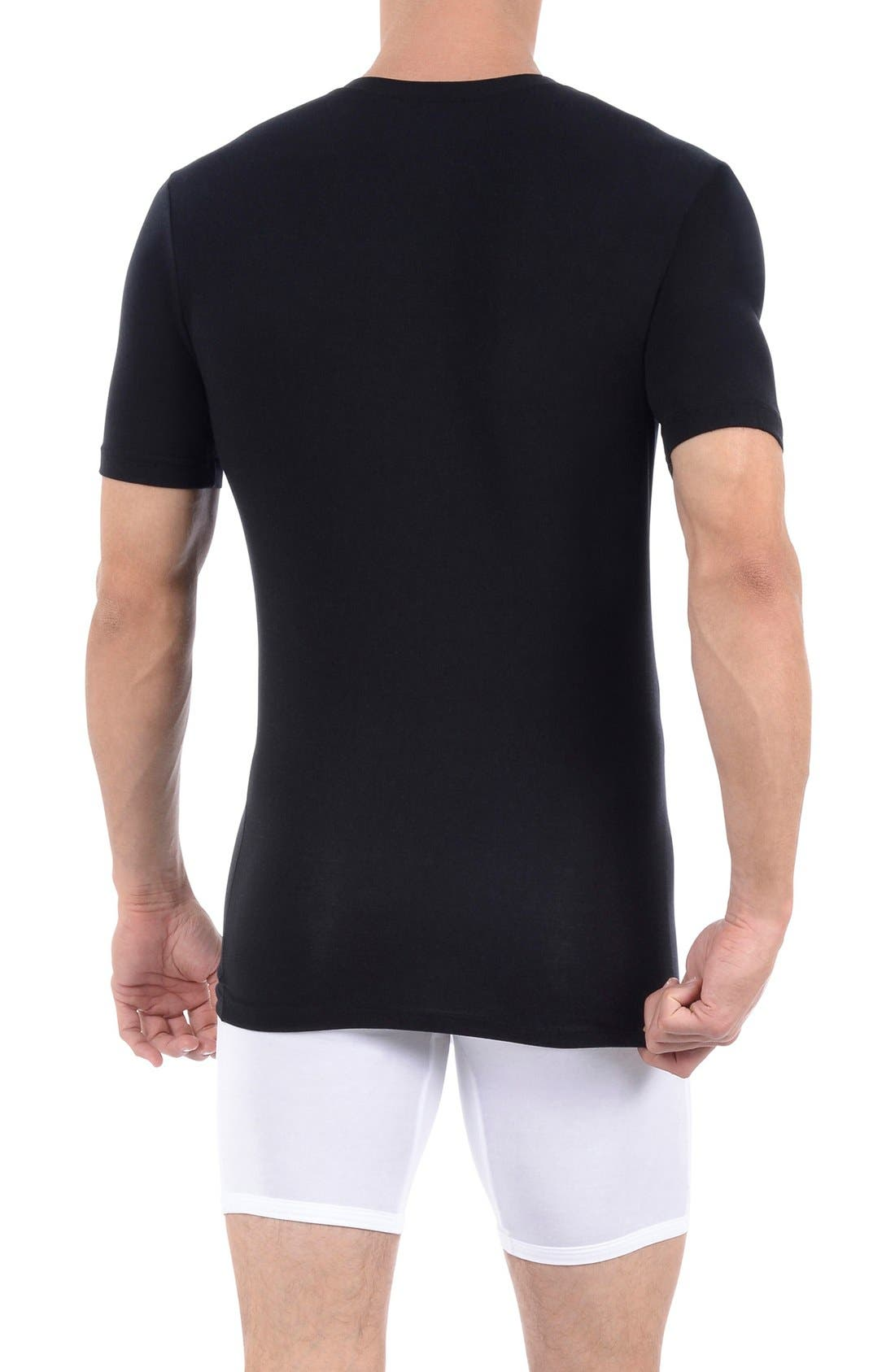 Alternate Image 2  - Tommy John 'Cool Cotton' Deep V-Neck Undershirt