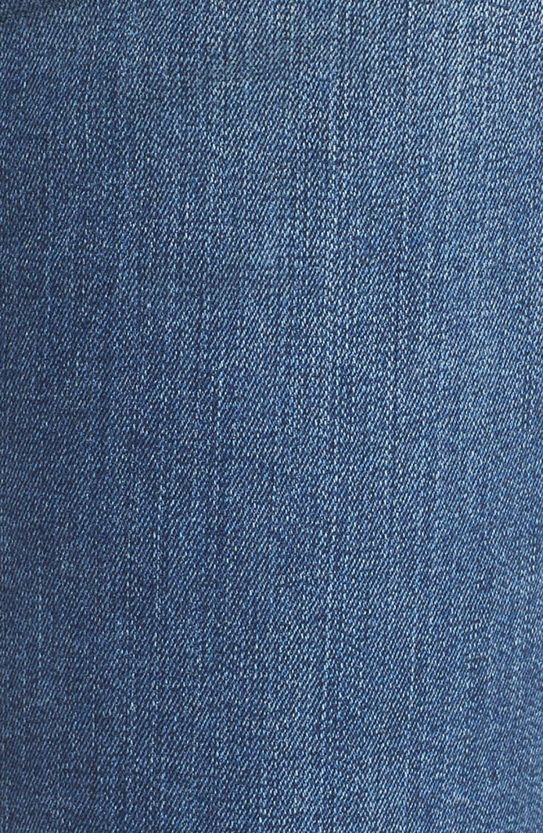 'Clarissa' Stretch Ankle Skinny Jeans,                             Alternate thumbnail 5, color,                             Heyburn