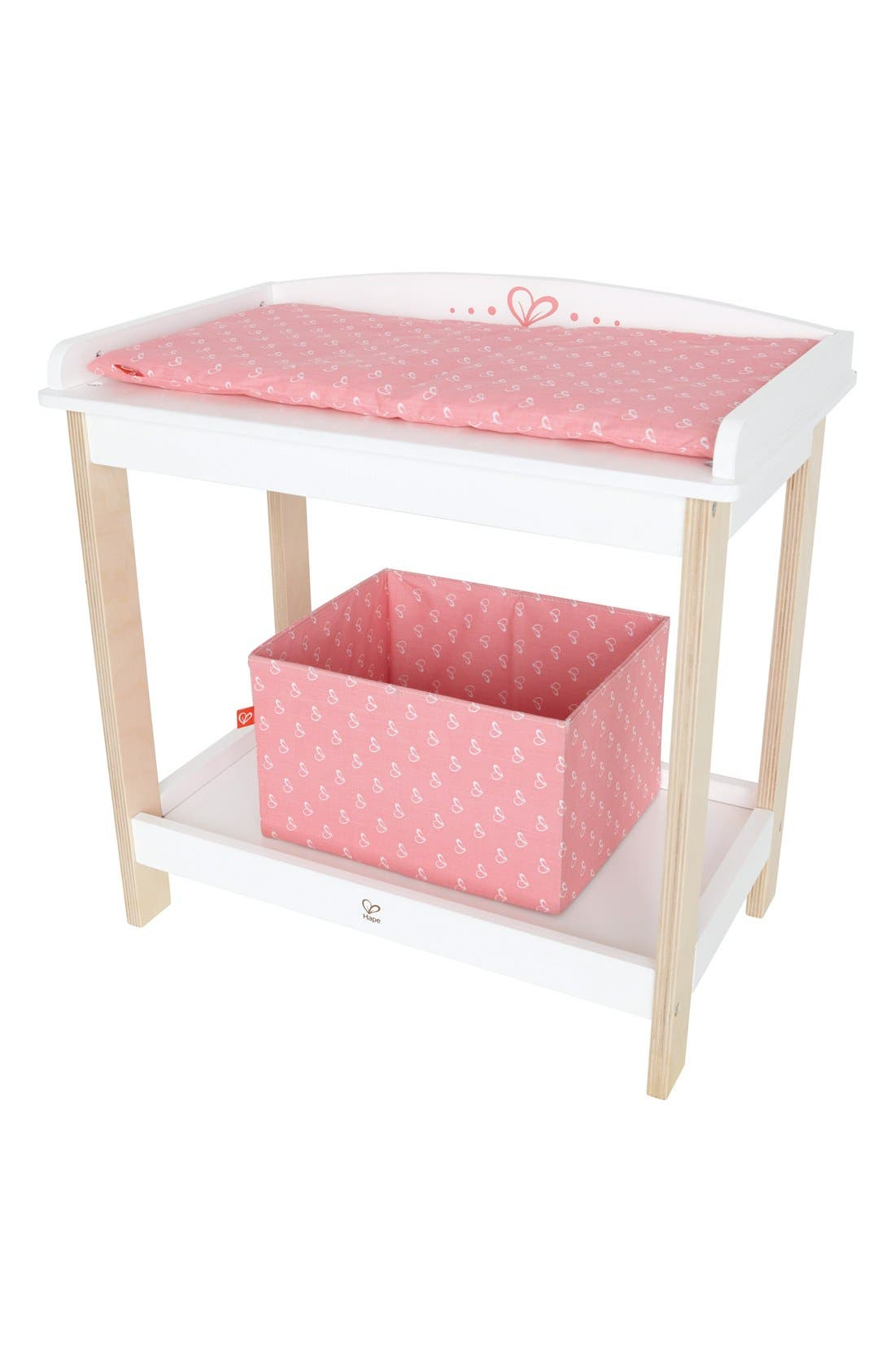 Toy Changing Table,                         Main,                         color, Pink
