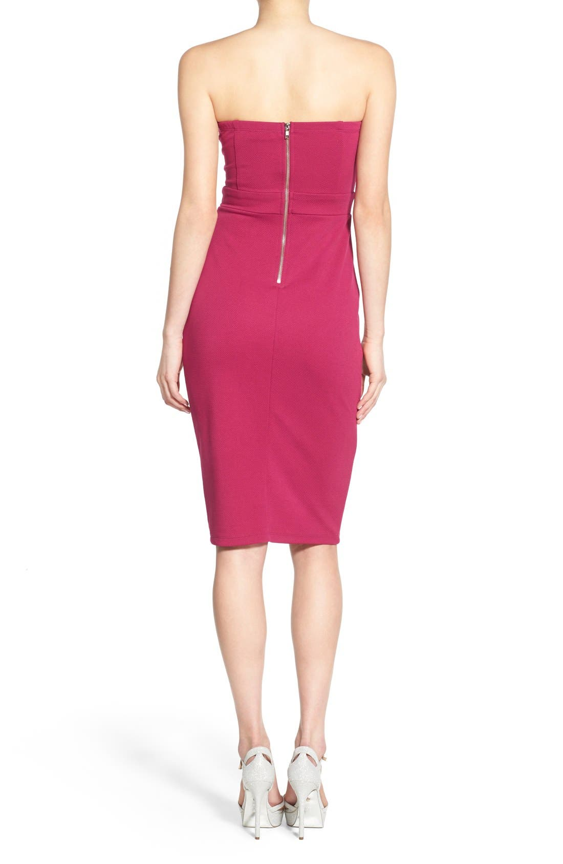 Alternate Image 2  - Speechless Strapless Sheath Dress