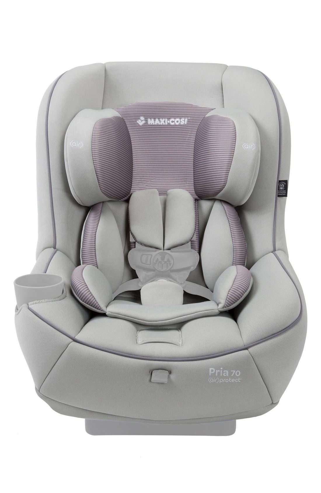 Seat Pad Fashion Kit for Pria<sup>™</sup> 70 Car Seat,                             Main thumbnail 1, color,                             Grey Gravel