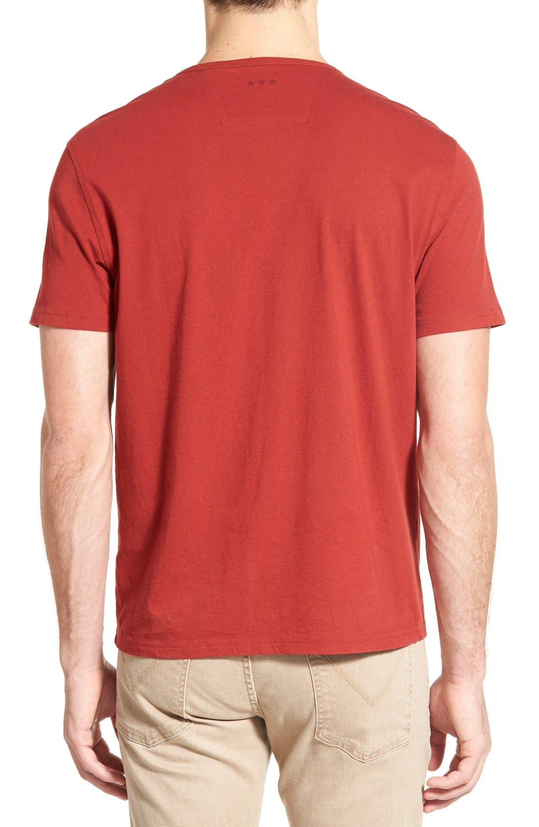 Alternate Image 2  - John Varvatos Star USA 'Faded Star' Graphic Crewneck T-Shirt
