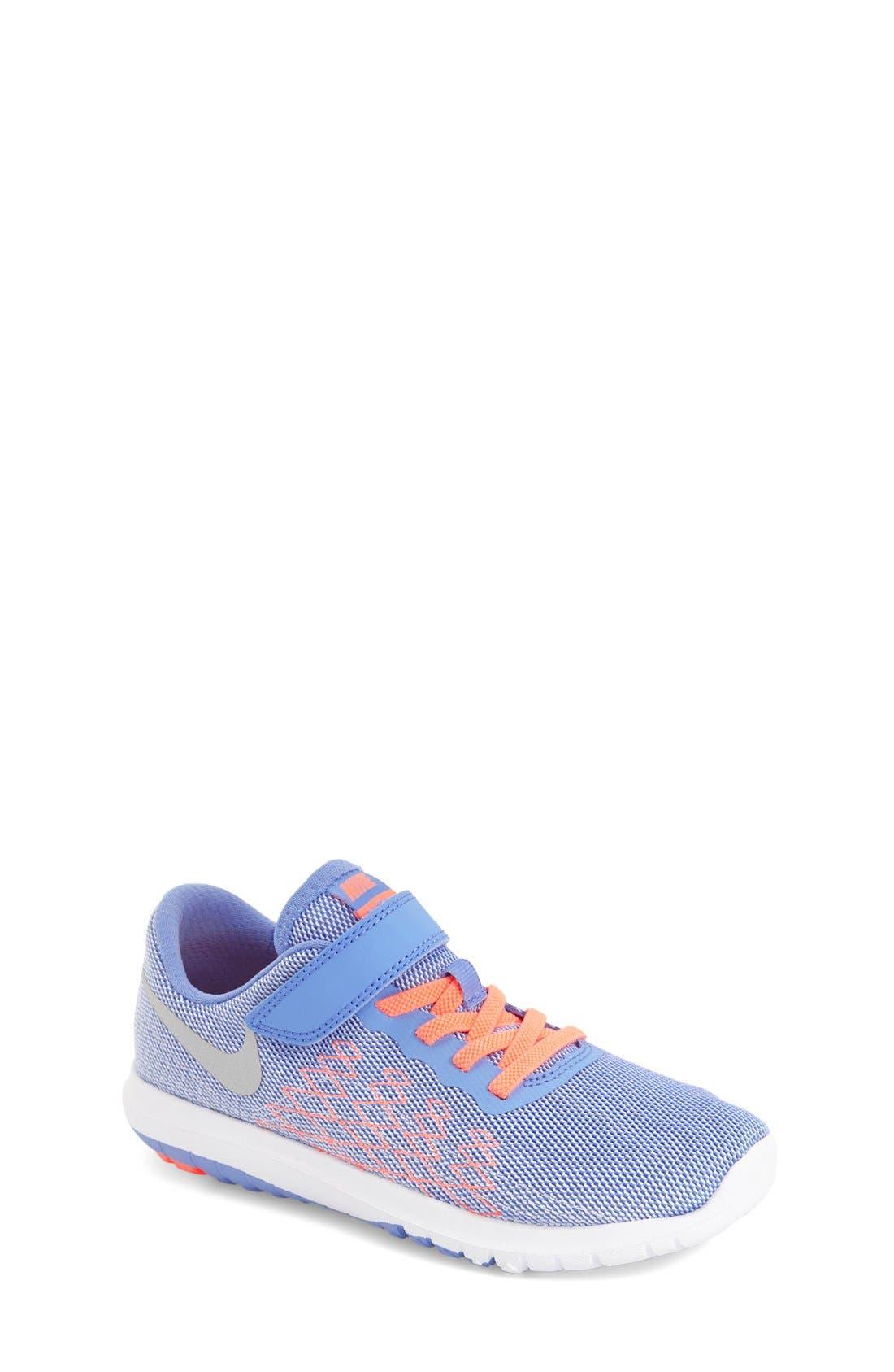 'Flex Fury 2' Athletic Shoe,                             Main thumbnail 1, color,                             Chalk Blue/ White