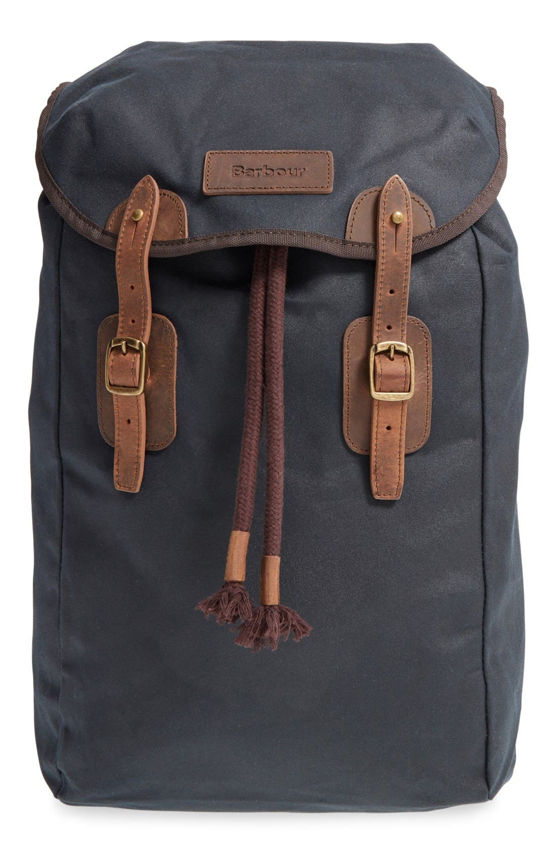 Main Image - Barbour Waxed Canvas Backpack