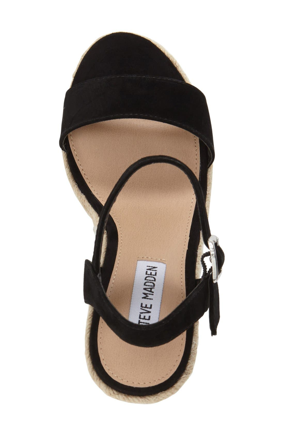 Alternate Image 3  - Steve Madden 'Alyssa' Espadrille Wedge Sandal (Women)