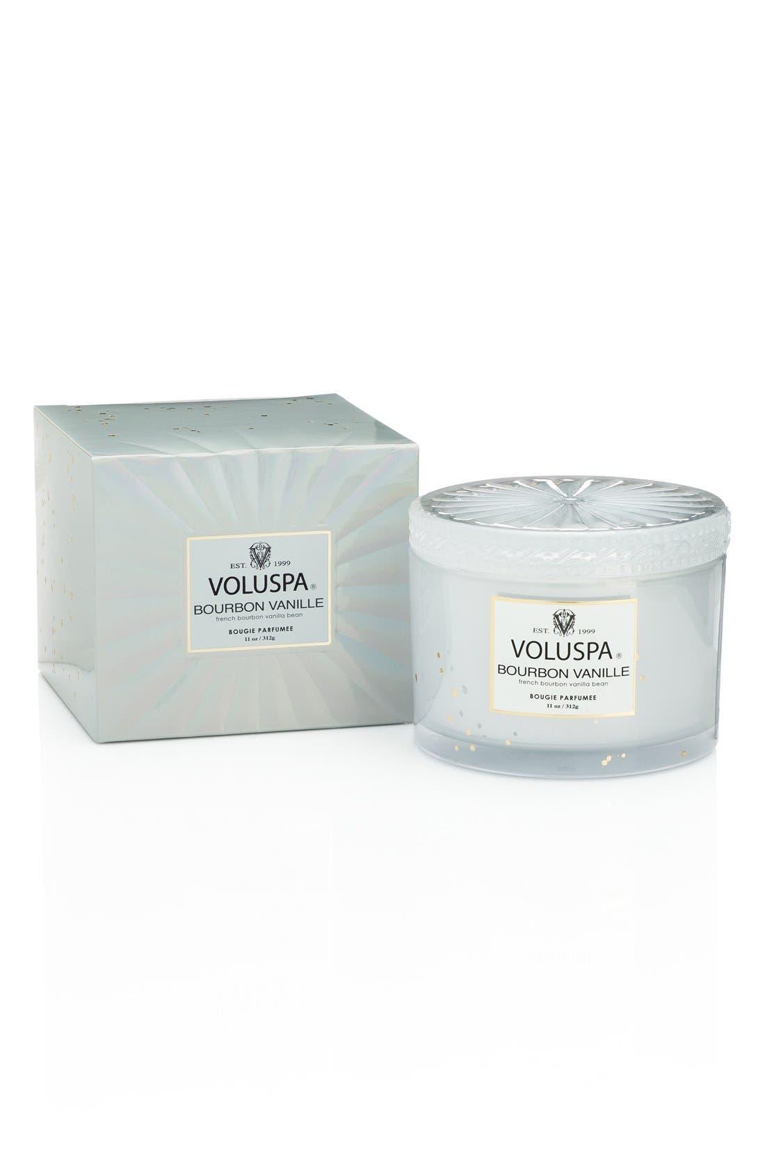 Main Image - Voluspa 'Maison Blanc - Bourbon Vanille' Boxed Lidded Candle