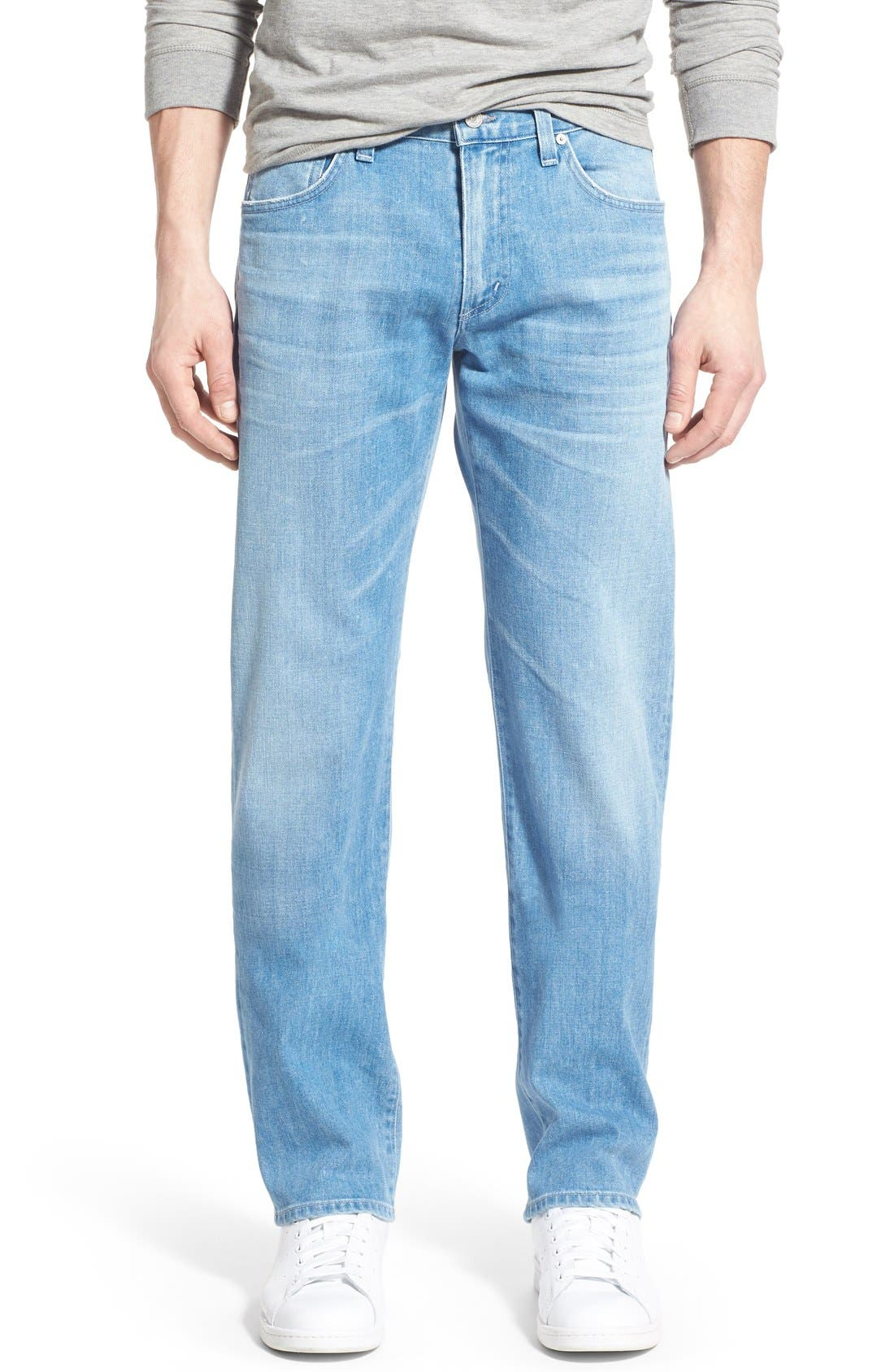 'Sid' Straight Leg Jeans,                         Main,                         color, Rogue