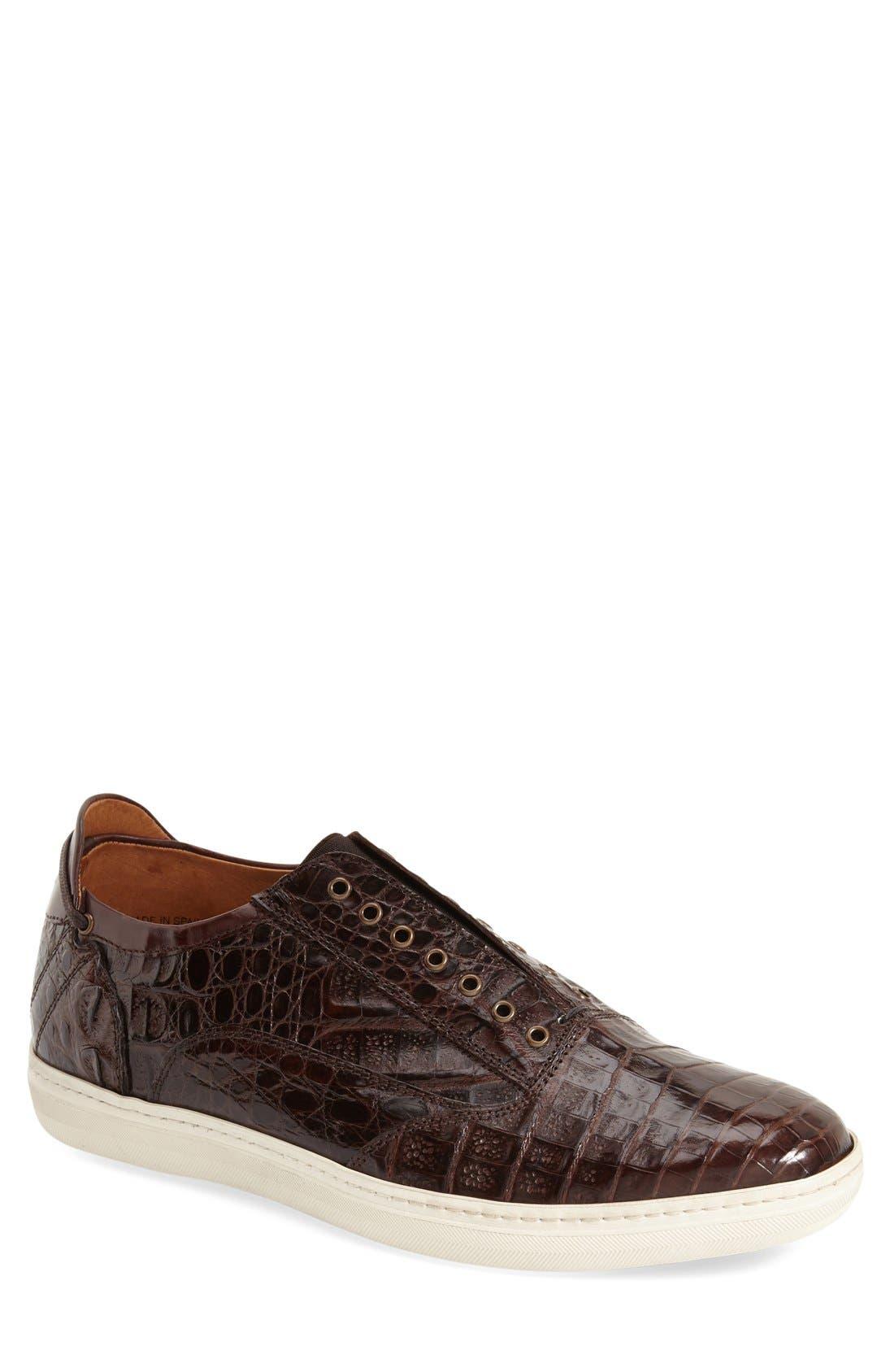 Mezlan 'Emmanuel' Slip-on Sneaker (Men)