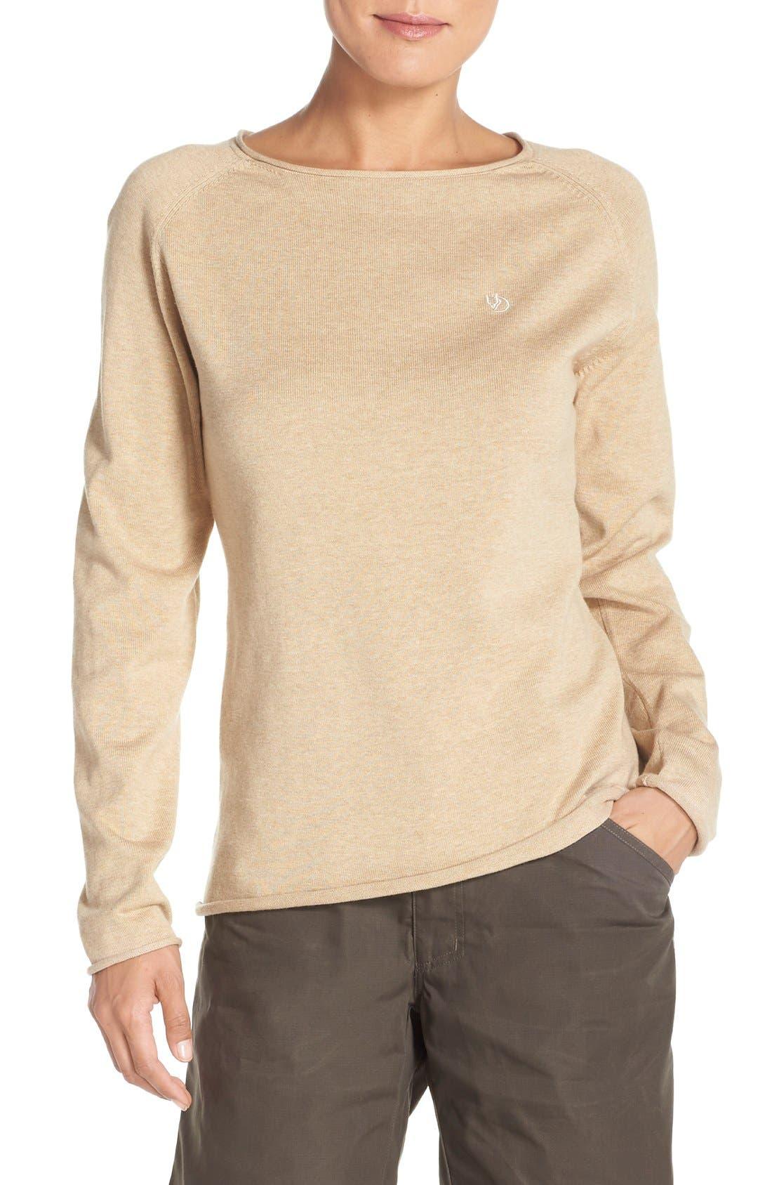 Main Image - Fjällräven 'Vik' Cotton & Wool Pullover