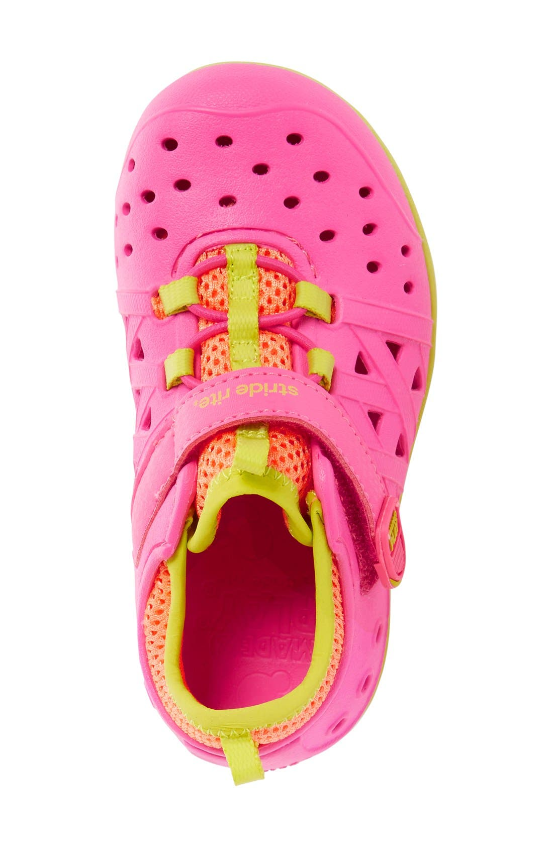 'Made2Play<sup>®</sup> - Phibian' Sneaker,                             Alternate thumbnail 4, color,                             Pink