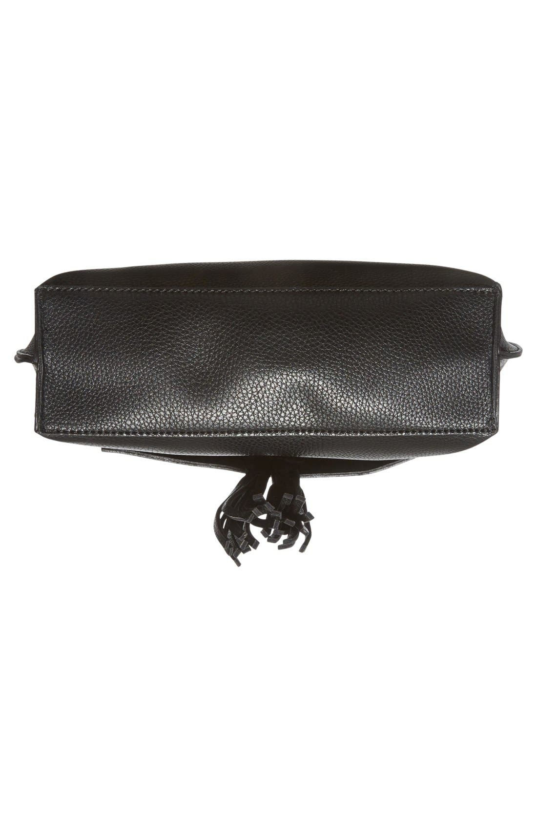 Alternate Image 6  - Sole Society Tassel Faux Leather Crossbody Bag