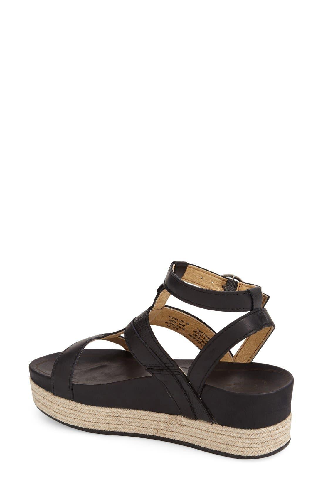 Alternate Image 2  - OluKai 'Hi Ona Loa' Espadrille Platform Sandal (Women)