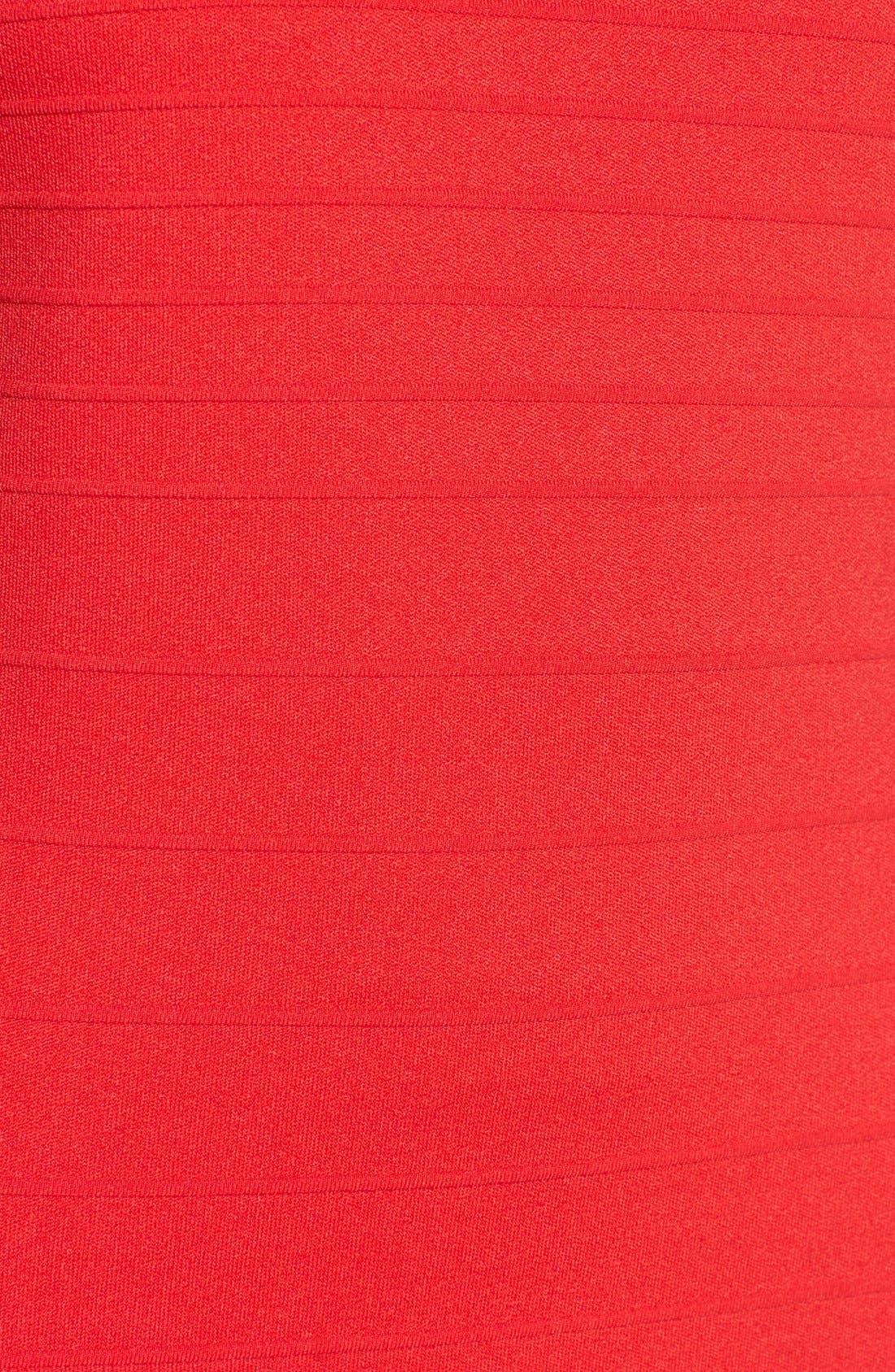 Alternate Image 5  - June & Hudson Short Sleeve Asymmetrical Wrap Front Dress