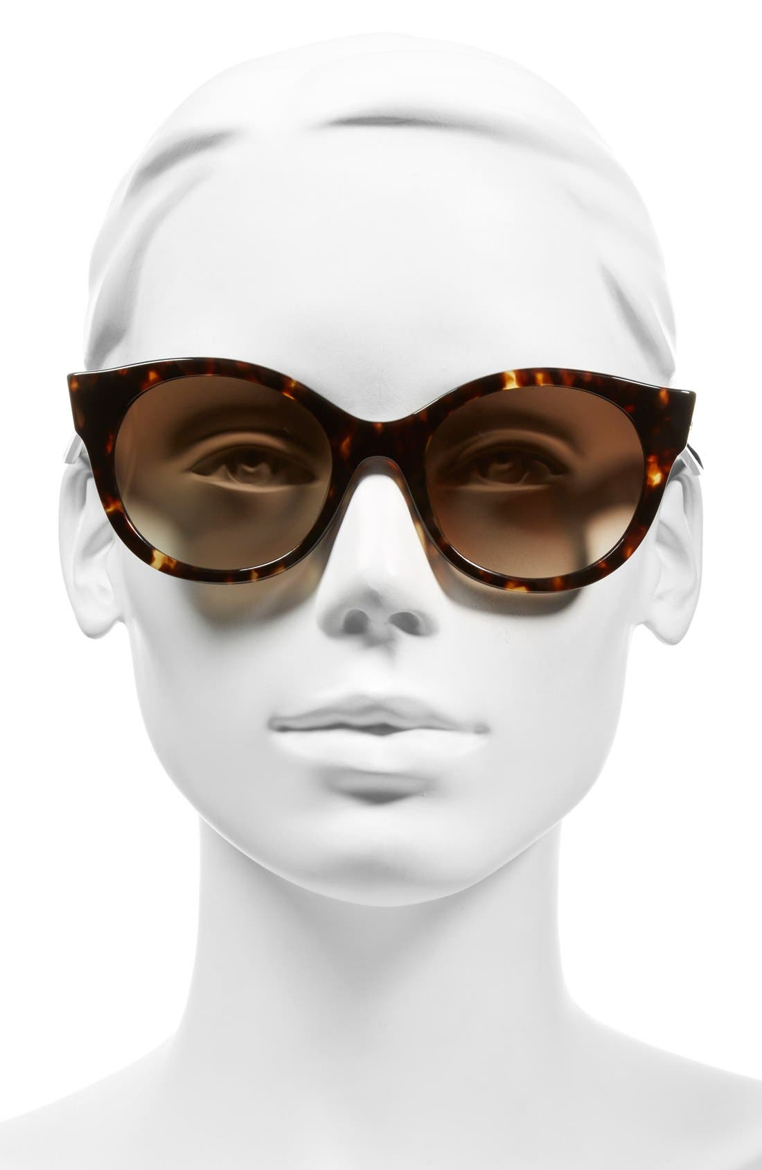 'melly' 53mm sunglasses,                             Alternate thumbnail 2, color,                             Havana