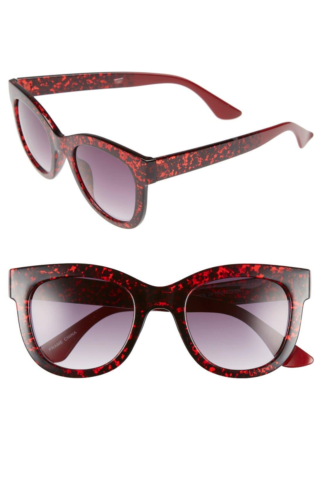Alternate Image 1 Selected - Fantas Eyes 50mm Retro Sunglasses