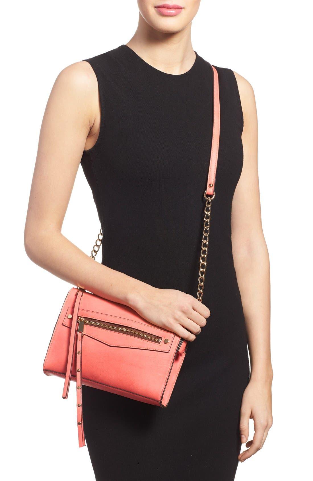 Alternate Image 2  - Dolce Girl Stud Crossbody Bag