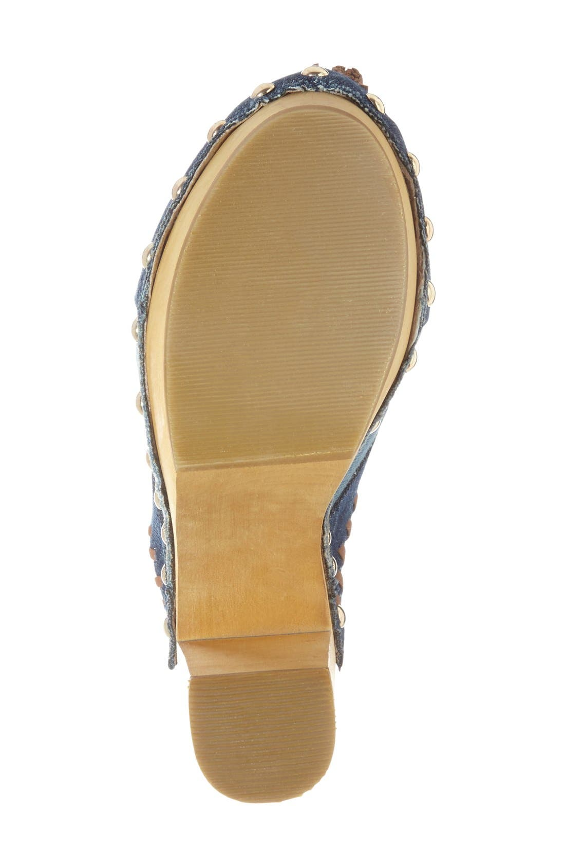 Alternate Image 4  - Shellys London 'Kennedy' Patchwork Clog (Women)