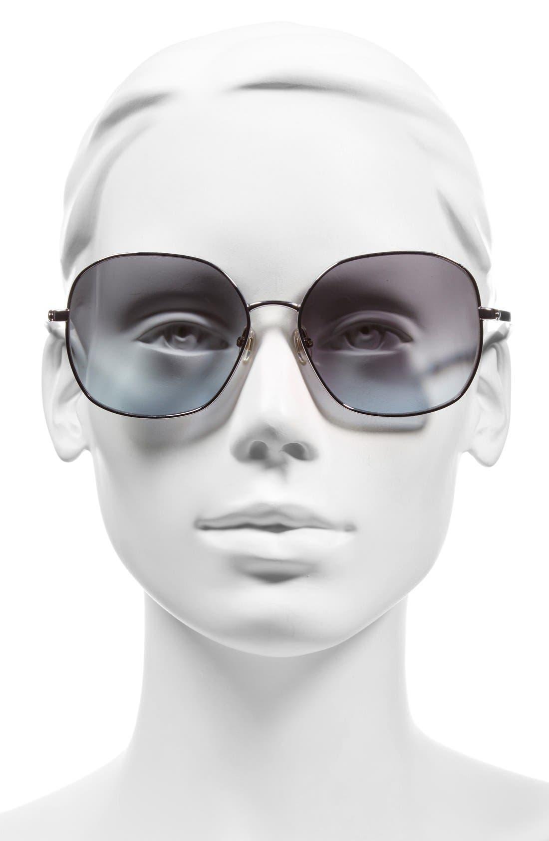 Alternate Image 2  - kate spade new york 'carlisa' 59mm sunglasses