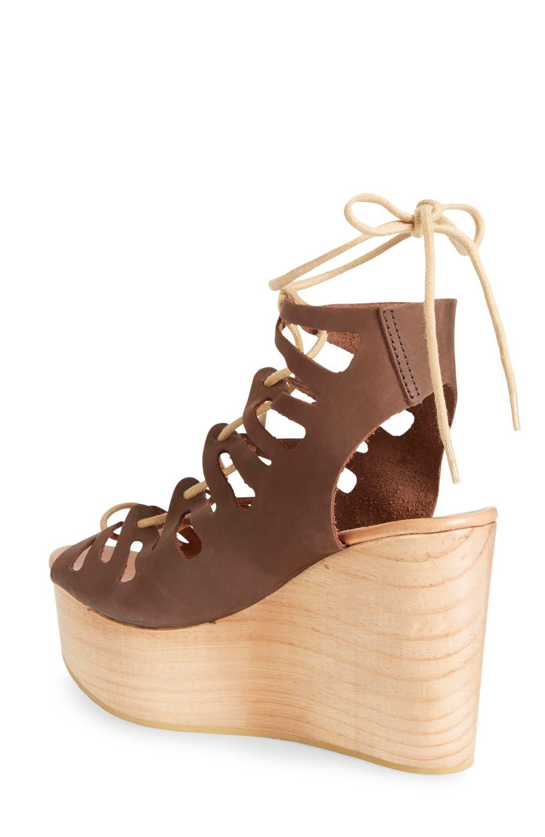 Alternate Image 2  - Musse & Cloud 'Oneka' Lace-Up Sandal (Women)