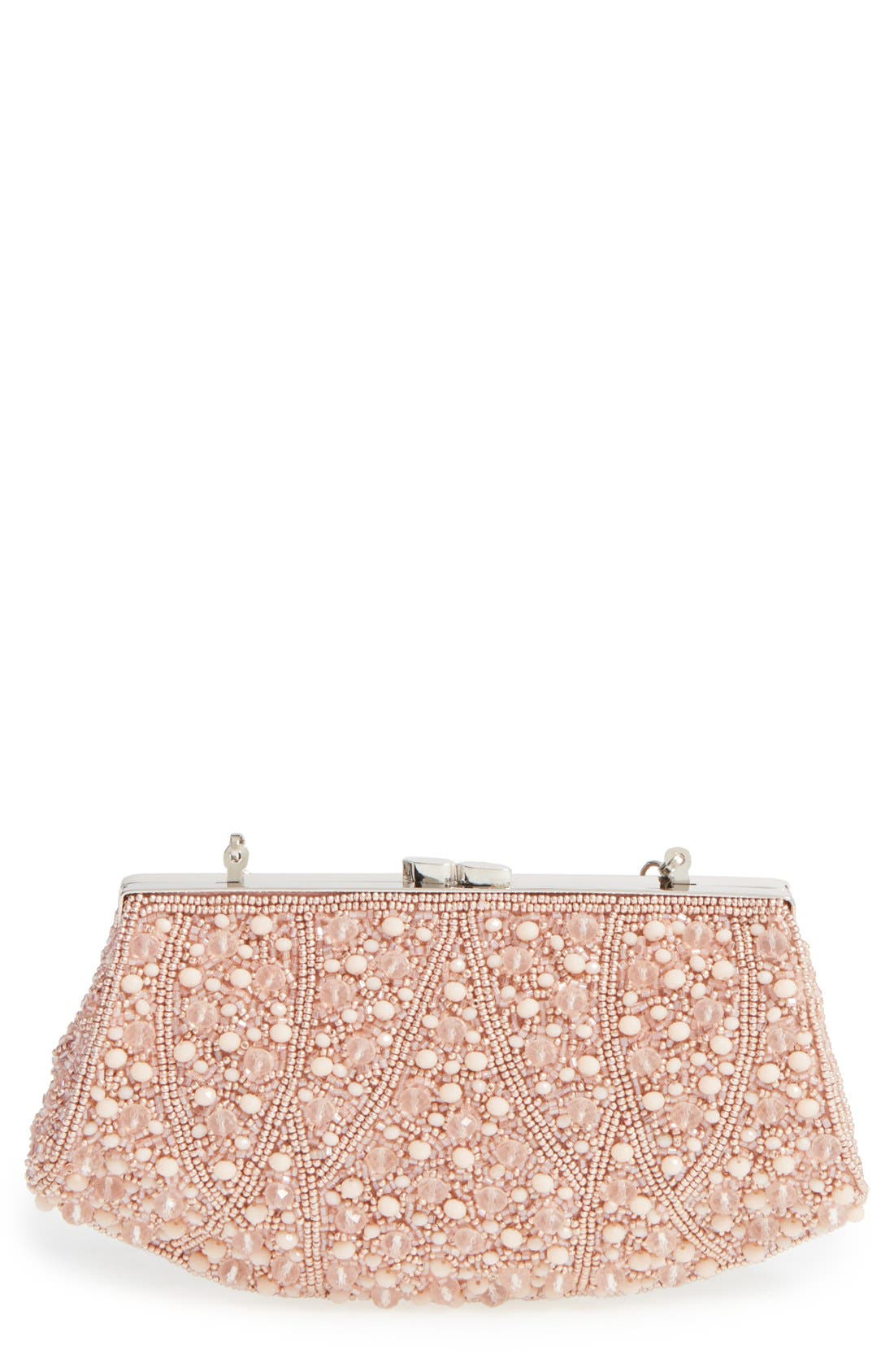 Alternate Image 1 Selected - Glint 'Rivoli' Beaded Clutch