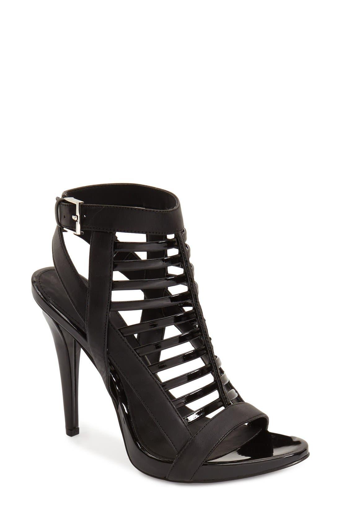 Alternate Image 1 Selected - Calvin Klein 'Nalo' Caged Sandal (Women)