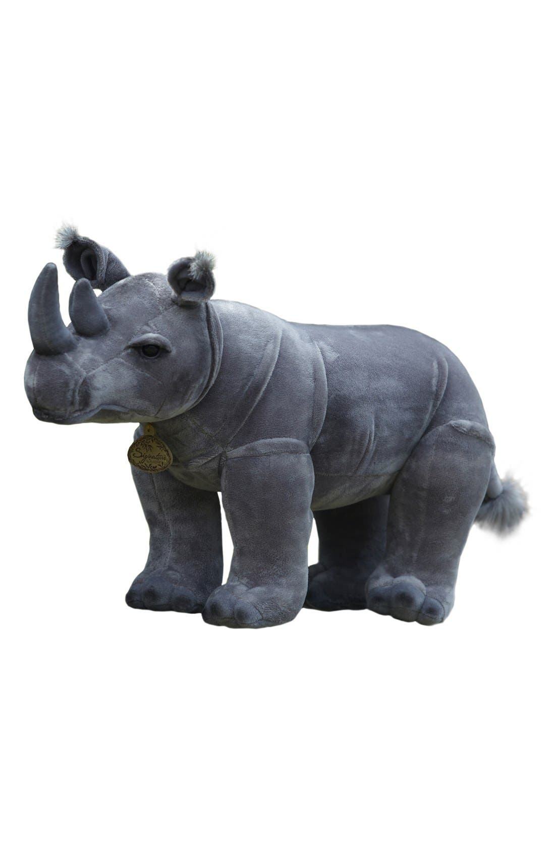 Alternate Image 1 Selected - Aurora World Toys 'Black Rhinoceros' Stuffed Animal
