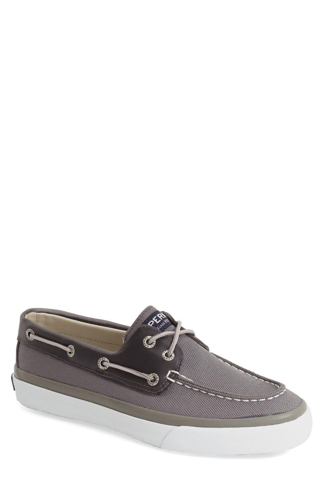 'Bahama 2 Eye Ballistic' Boat Shoe,                         Main,                         color, Grey