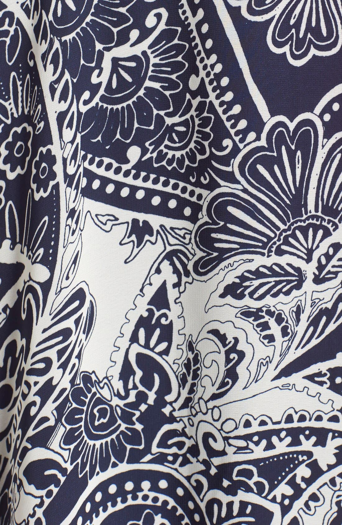 Alternate Image 5  - Eliza J Print Chiffon Maxi Dress
