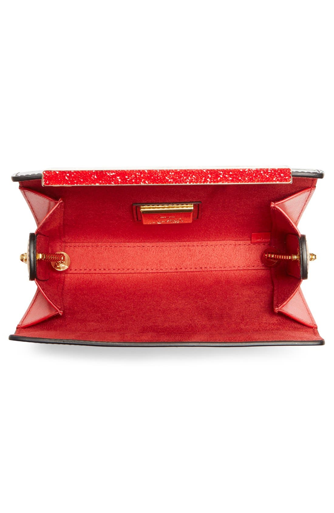 Alternate Image 3  - Christian Louboutin 'Vanité' Printed Leather Clutch