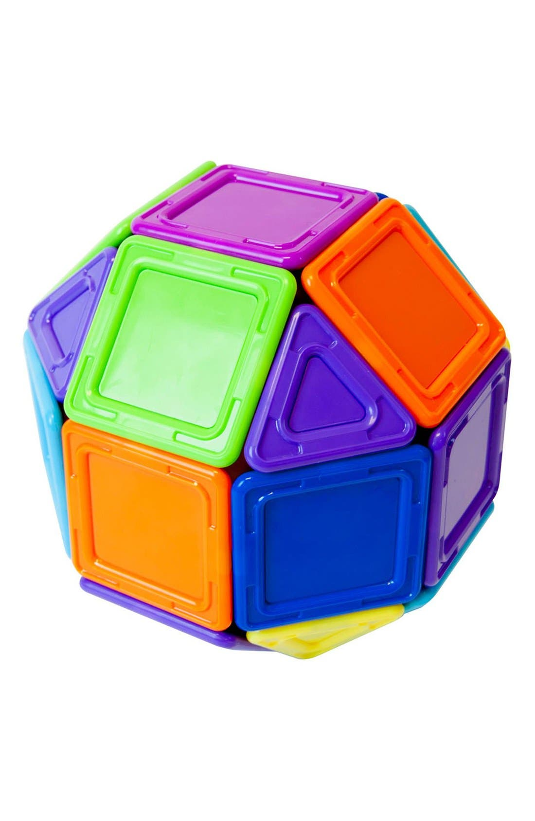 'Standard - Solids' Opaque Magnetic 3D Construction Set,                             Alternate thumbnail 2, color,                             Opaque Rainbow