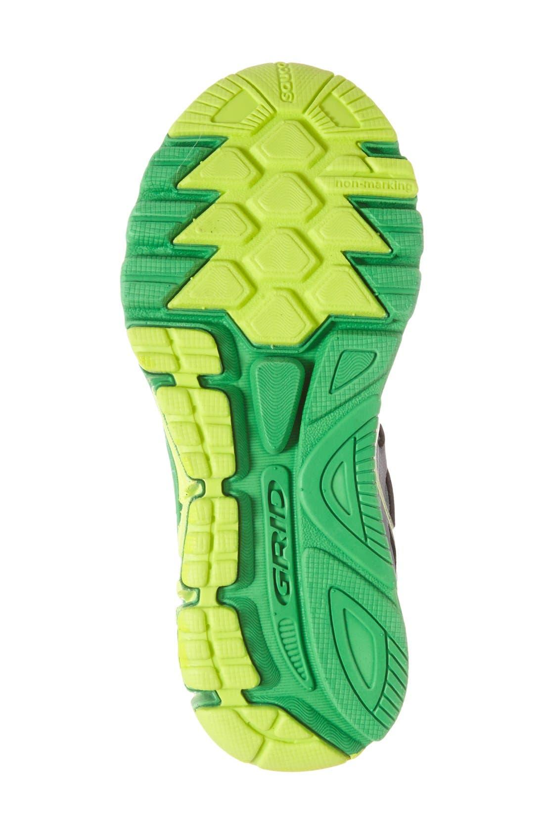 Alternate Image 4  - Saucony 'Zealot' Athletic Shoe (Toddler, Little Kid & Big Kid)